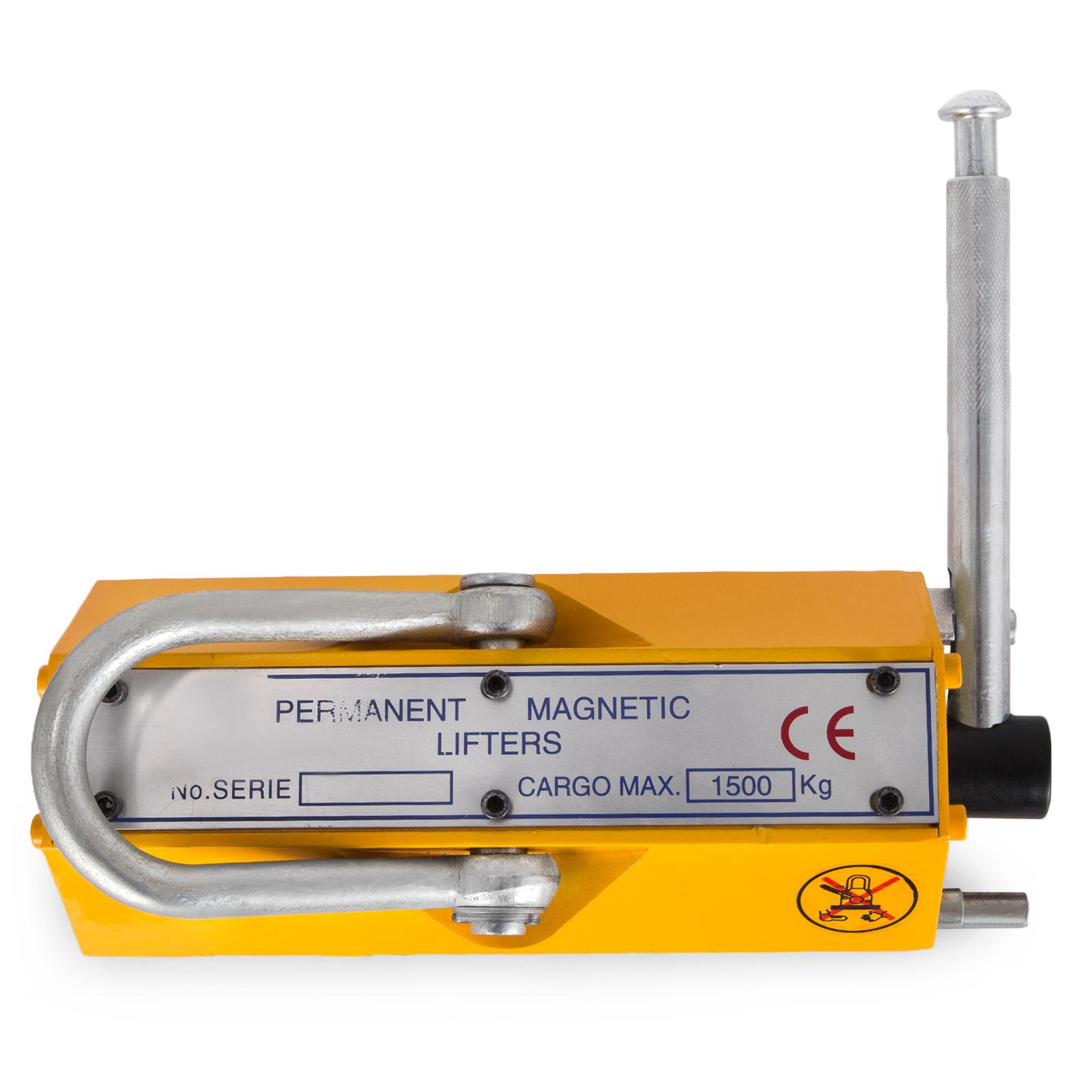 100-300-600-1000KG-Steel-Magnetic-Lifter-Heavy-Duty-Crane-Hoist-Lifting-Magnet miniature 77