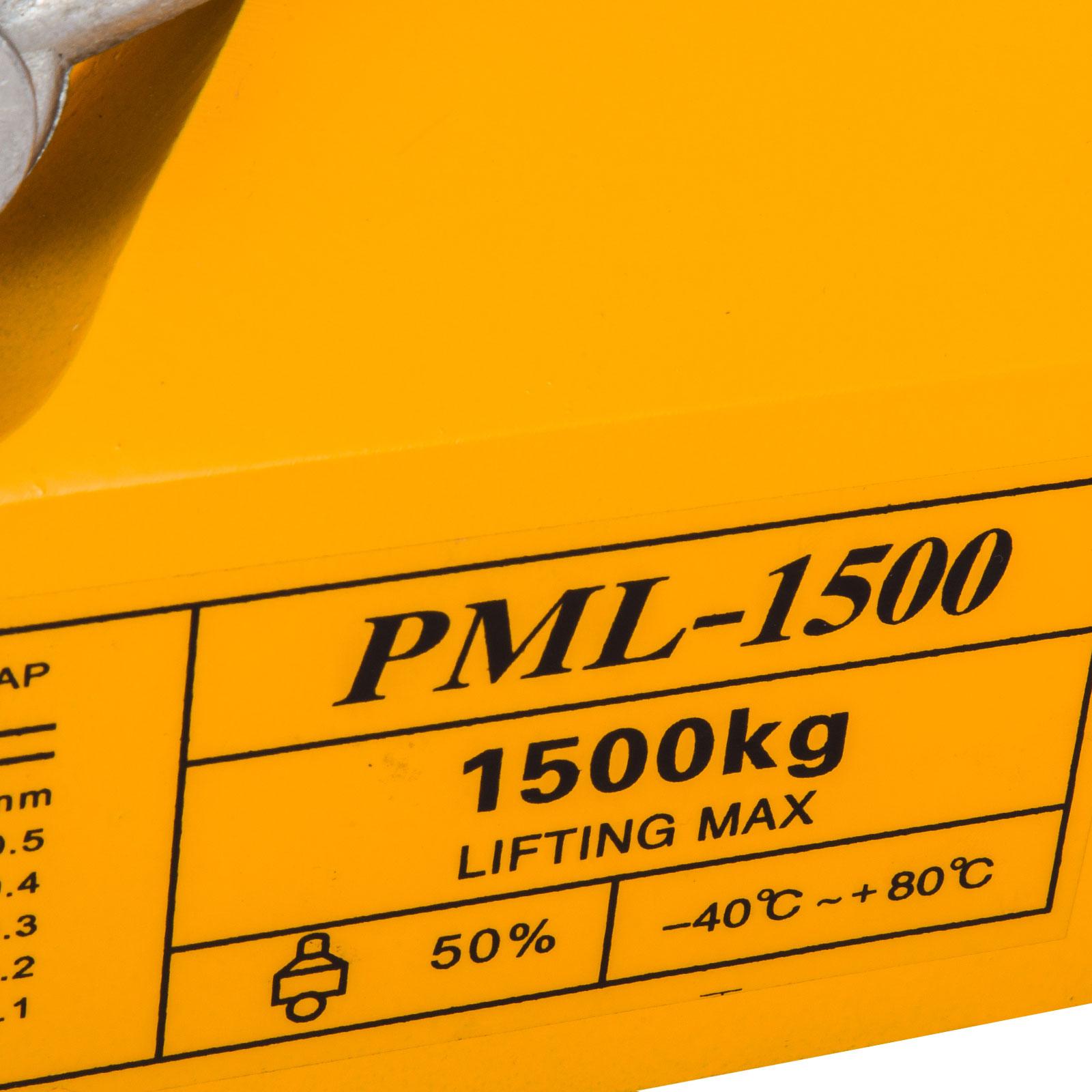 100-300-600-1000KG-Steel-Magnetic-Lifter-Heavy-Duty-Crane-Hoist-Lifting-Magnet miniature 78
