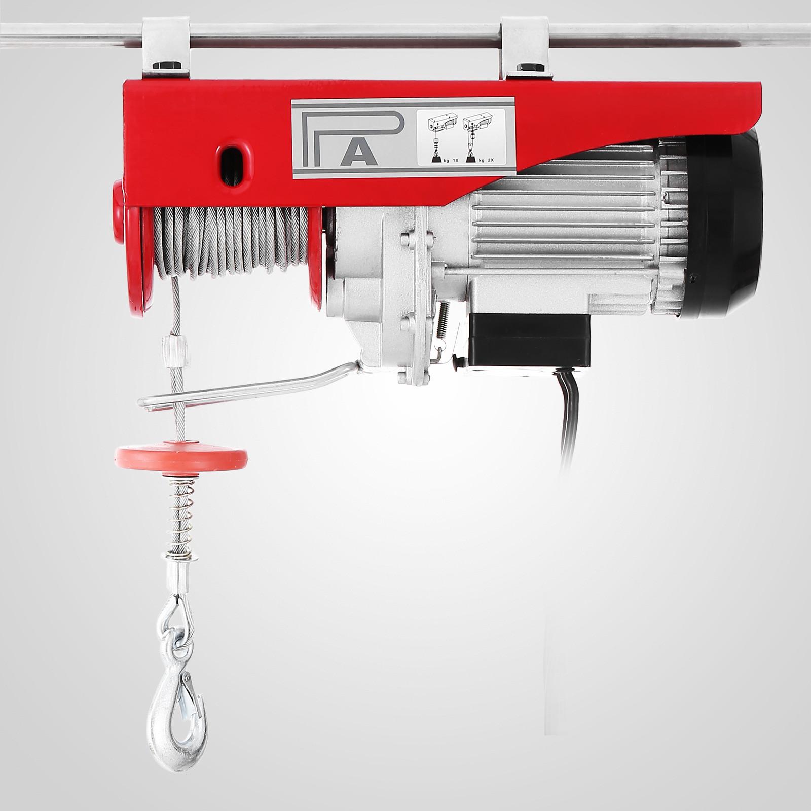 400 800kg palan electrique grue treuils bouton de s curit. Black Bedroom Furniture Sets. Home Design Ideas