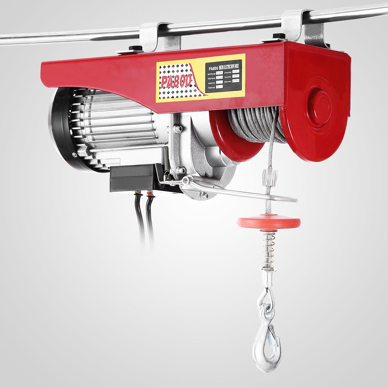 100kg-900kg-Electric-Hoist-Winch-Lifting-Engine-Crane-Cable-Lift-Hook-Garage miniature 51