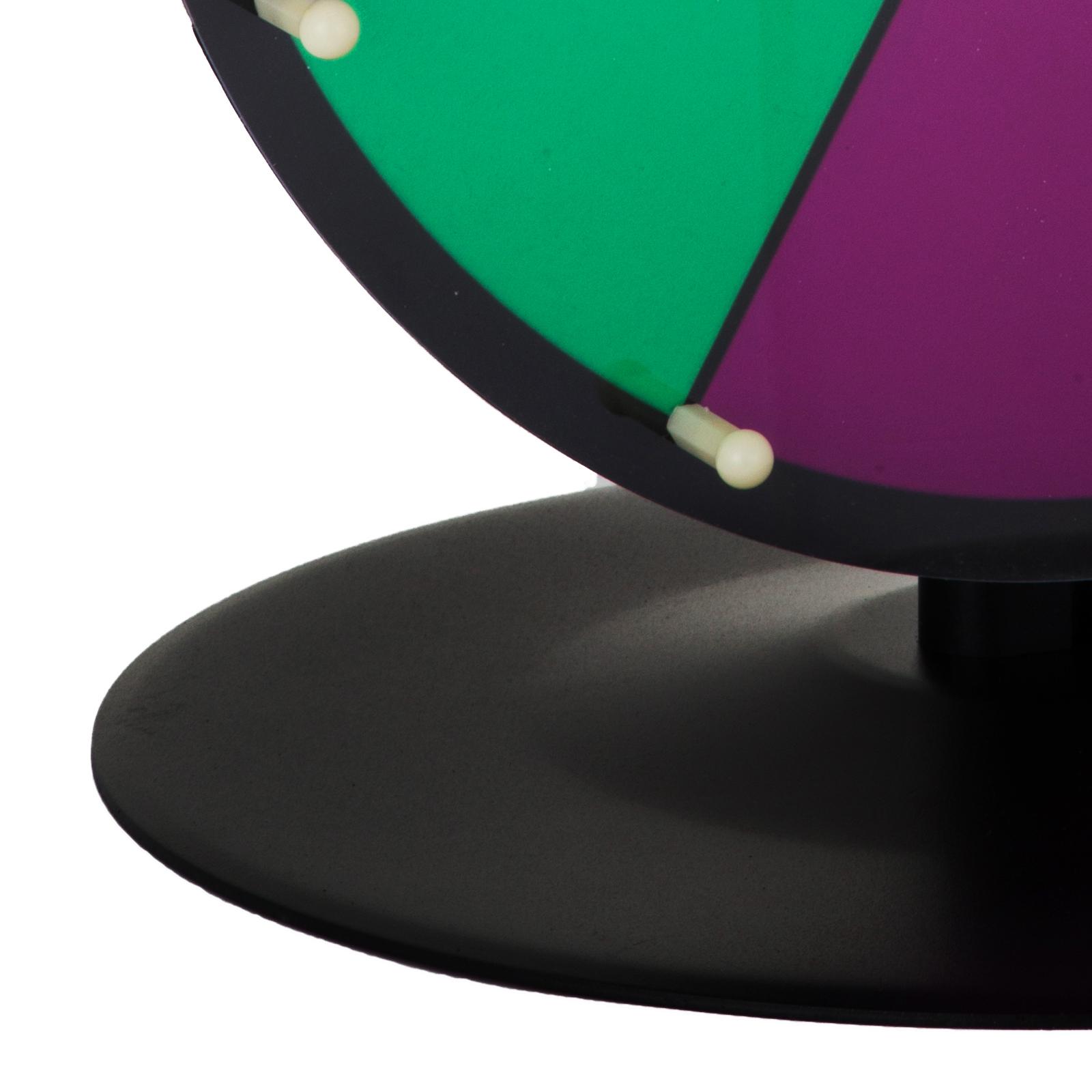 24-18-15-Ruota-Della-Fortuna-di-Colore-14-Slots-Gioco-Spin-Con-Supporto-Festa miniatura 46