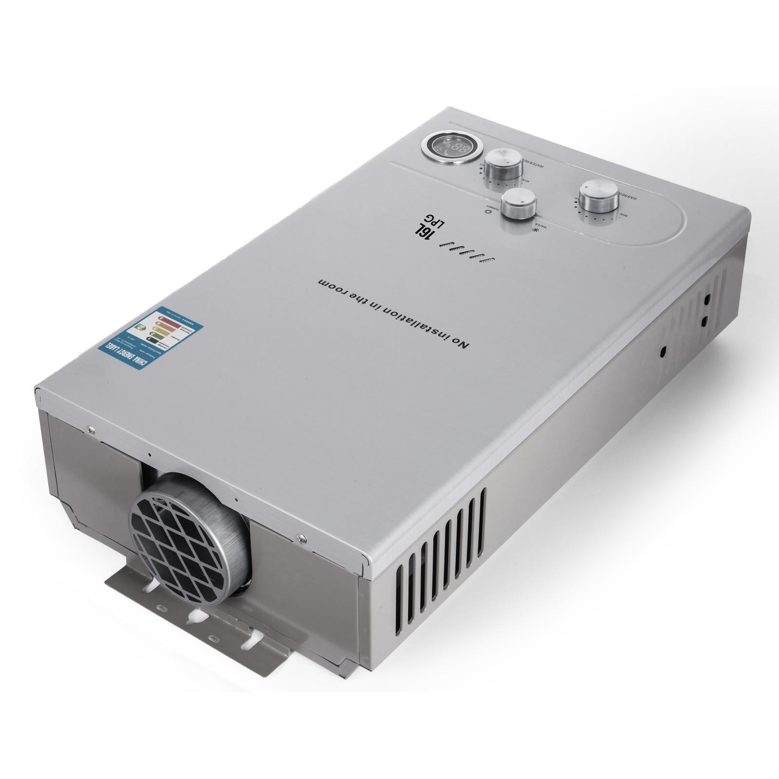 Propangas-Gas-Durchlauferhitzer-Warmwasserbereiter-Boiler-Warmwasserspeicher Indexbild 77