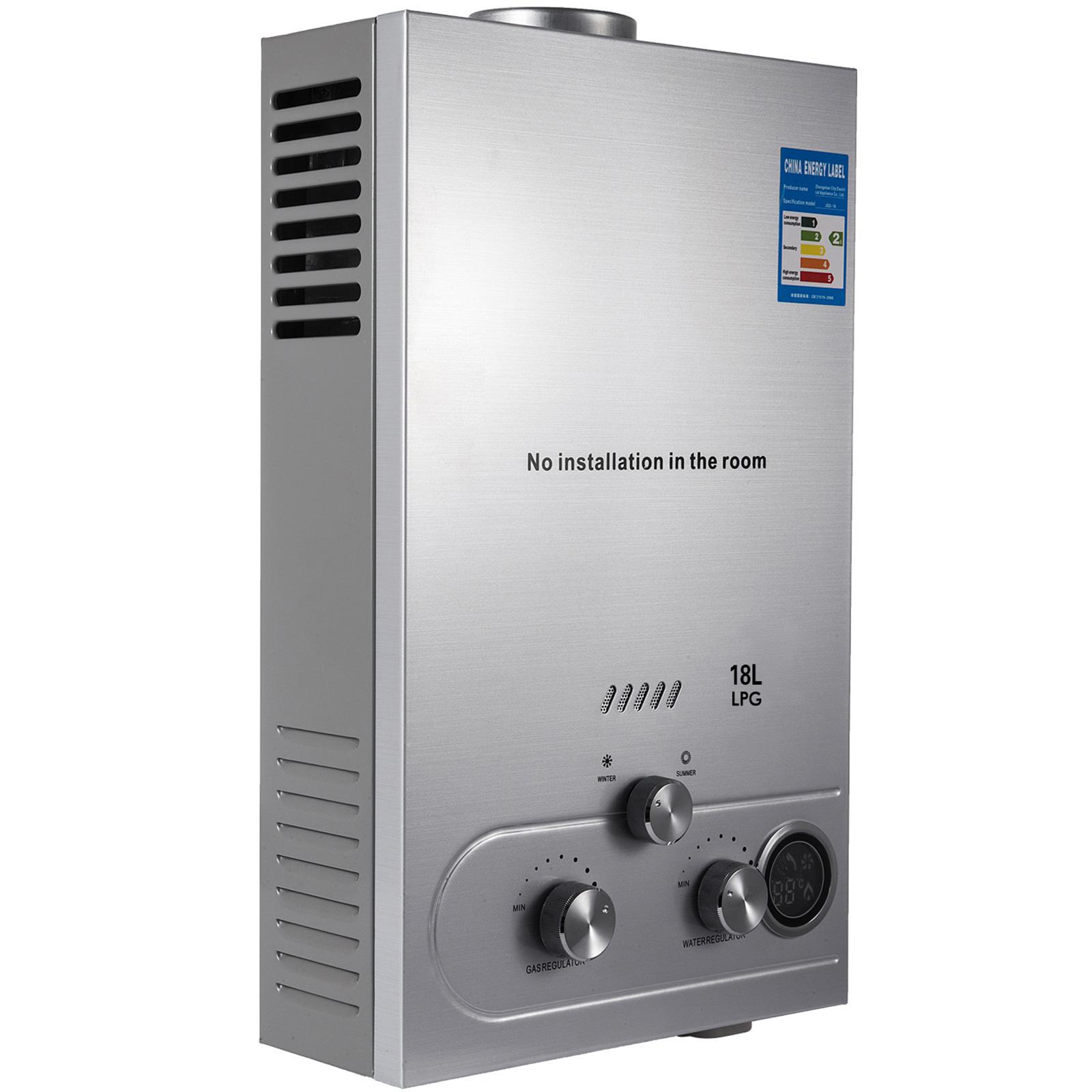 Propangas-Gas-Durchlauferhitzer-Warmwasserbereiter-Boiler-Warmwasserspeicher Indexbild 94