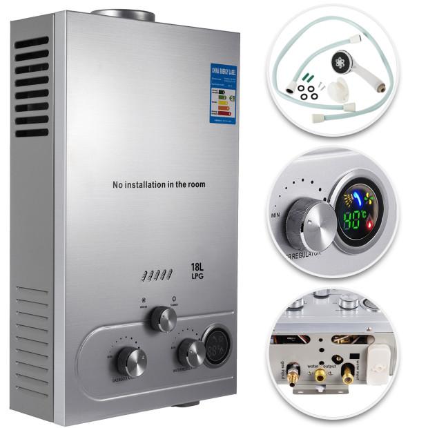 hot water heater 18l 4 8gpm instant boiler tankless 36kw propane gas lpg 891783495110 ebay. Black Bedroom Furniture Sets. Home Design Ideas