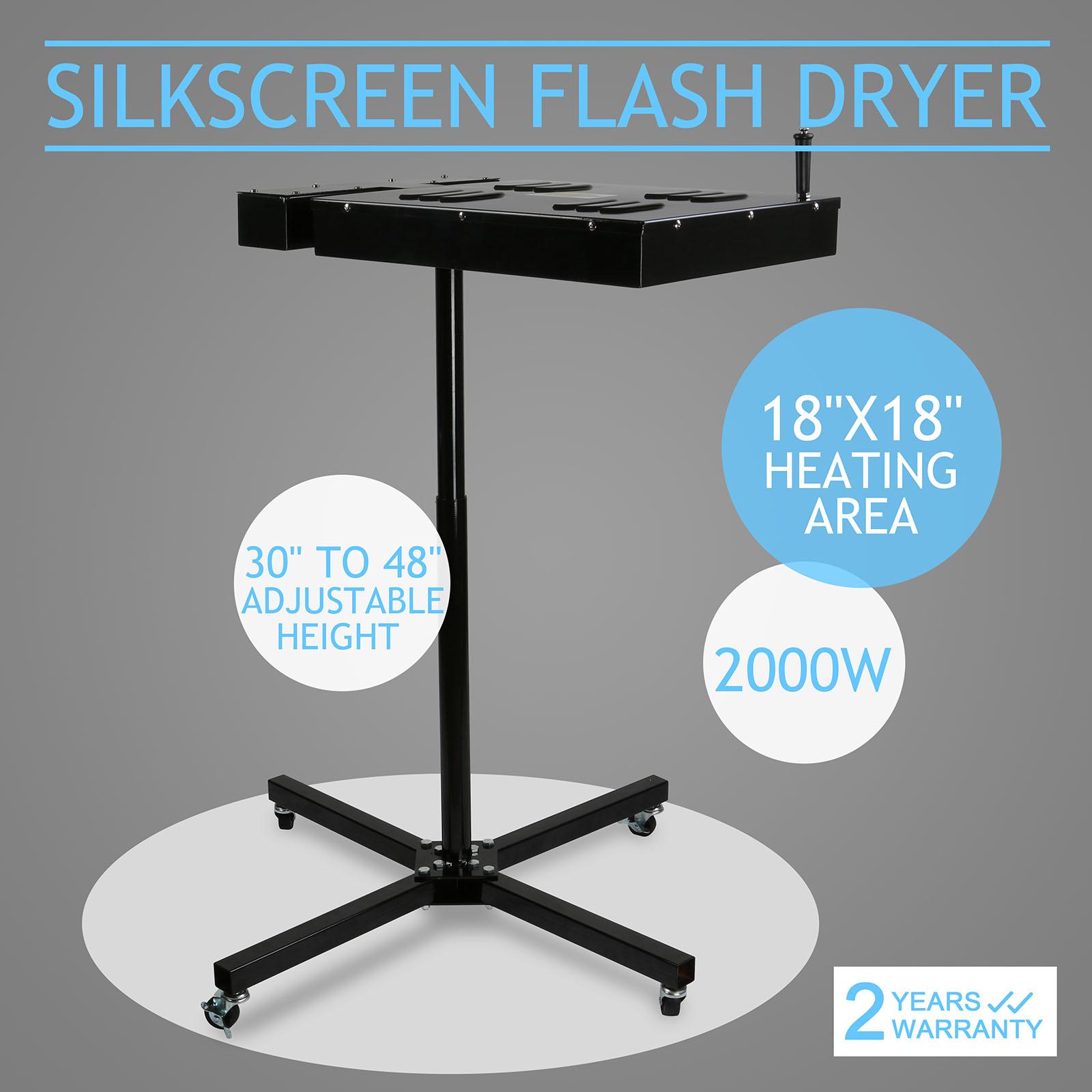Flash Dryer Silk Screen Printing Equipment T-Shirt Curing ...