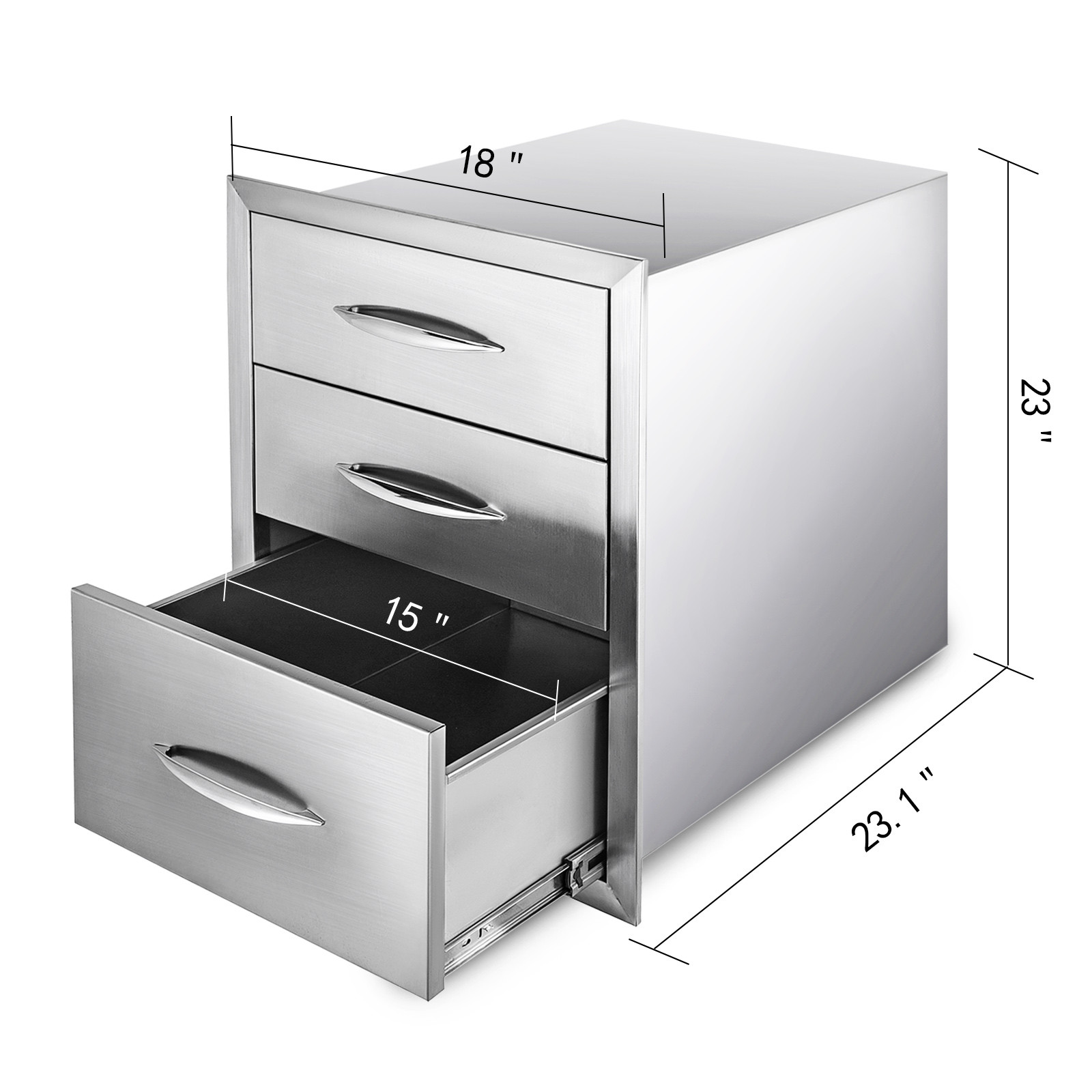 Outdoor Kitchen Bbq Island Components Stainless Steel