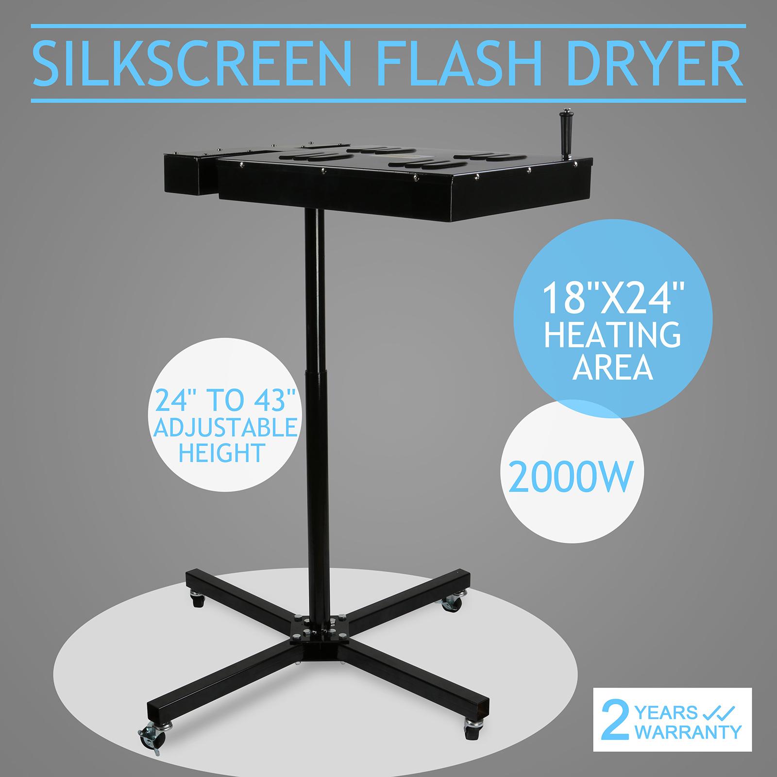 """18/""""X24/"""" Sèche-linge Sérigraphie Flash Dryer guérison W Type Heavy Duty Séchoir"""