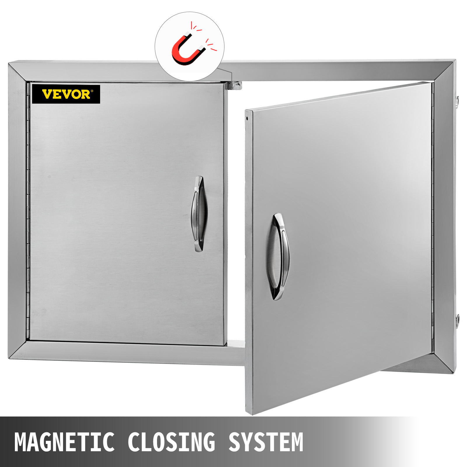 Details About 19 H X28 W Bbq Access Door Outdoor Kitchen Island Double