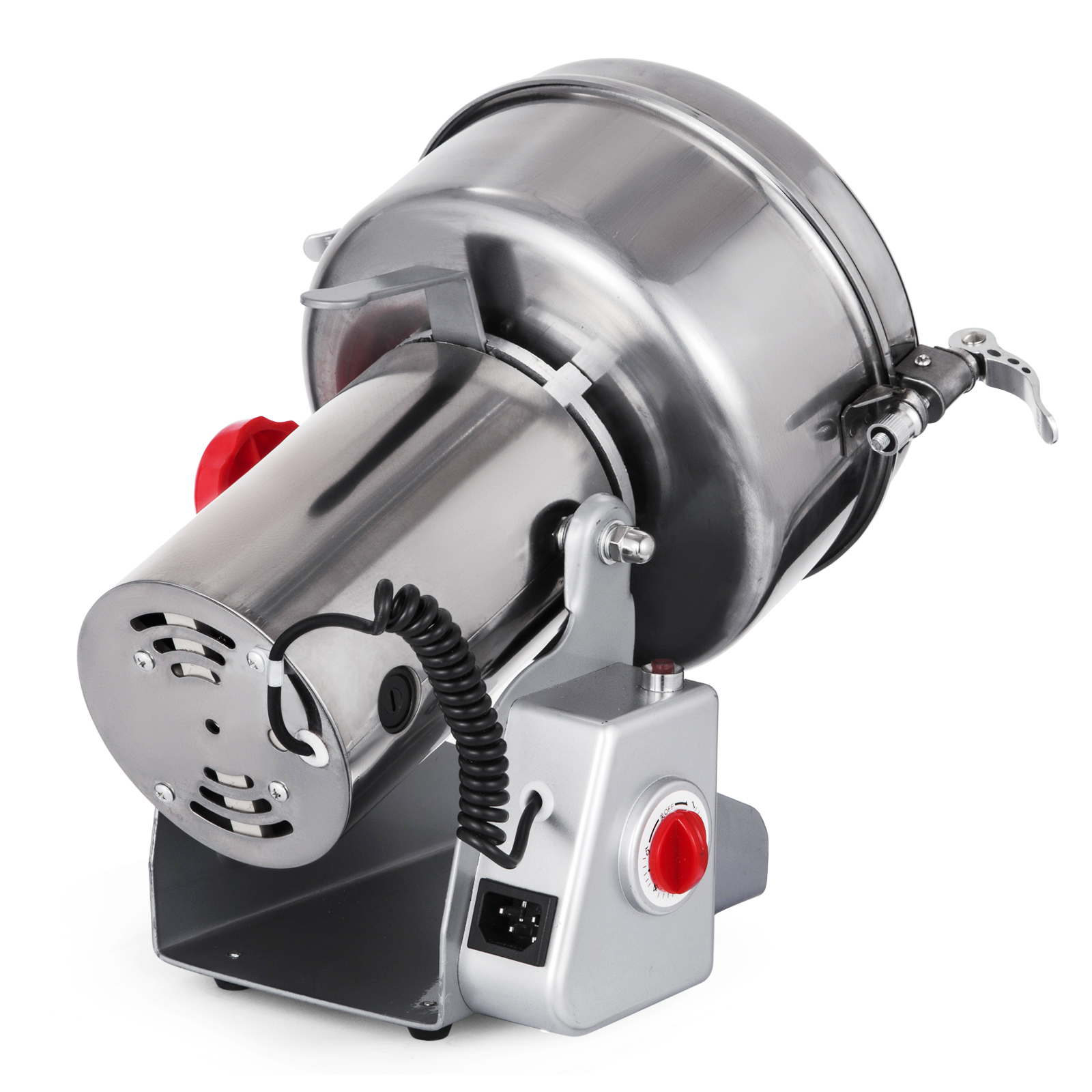 2000g Electric Herb Grain Mill Grinder 70~300Mesh 110V 28000R//M Stainless Steel