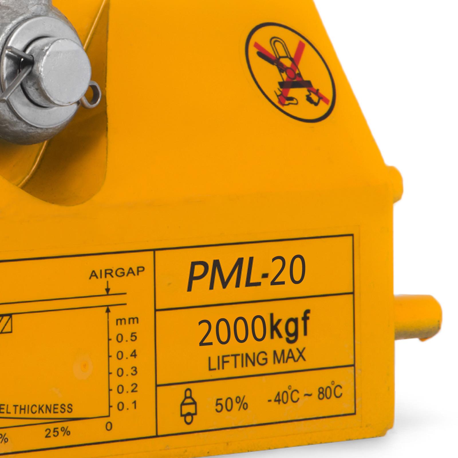 100-300-600-1000KG-Steel-Magnetic-Lifter-Heavy-Duty-Crane-Hoist-Lifting-Magnet miniature 94
