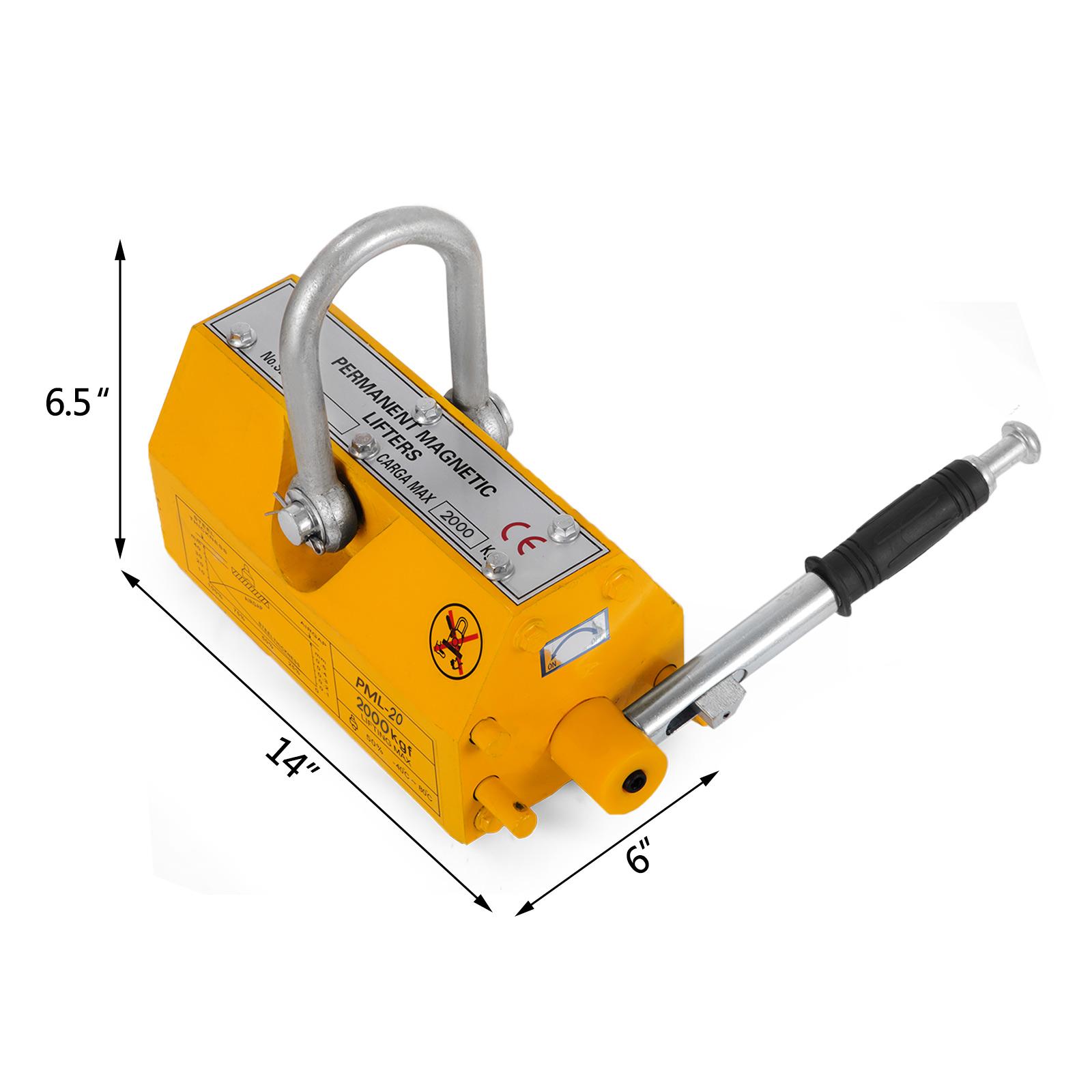 100-300-600-1000KG-Steel-Magnetic-Lifter-Heavy-Duty-Crane-Hoist-Lifting-Magnet miniature 86