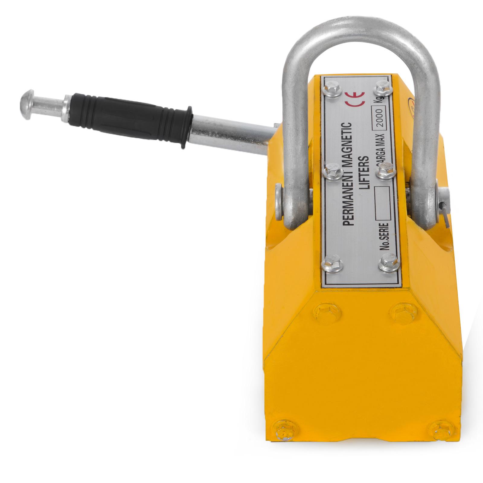 100-300-600-1000KG-Steel-Magnetic-Lifter-Heavy-Duty-Crane-Hoist-Lifting-Magnet miniature 89
