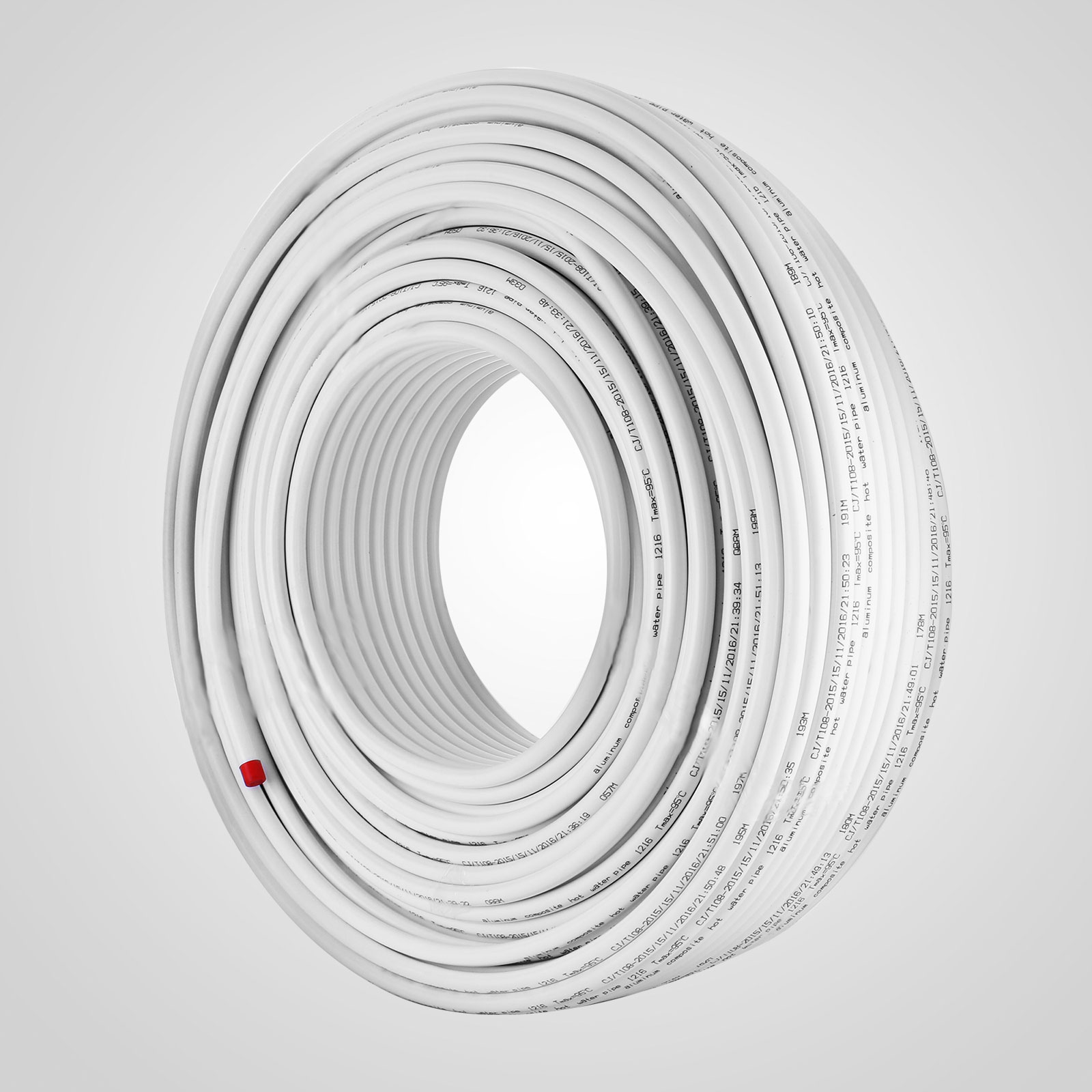 1-2-034-x-100-200-300-1000ft-Pex-Tubing-Oxygen-Barrier-Red-Blue-Radiant-Floor-Heat thumbnail 101