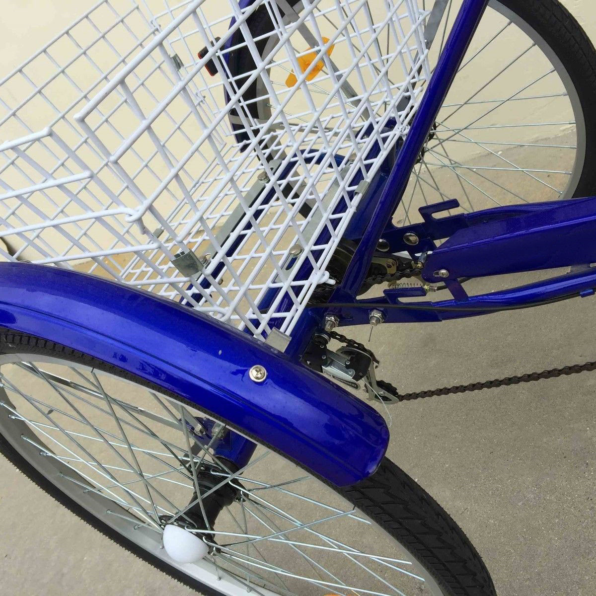 20-24-26-034-Adult-Tricycle-1-7-Speed-3-Wheel-Large-Basket-For-Shopping-Optional thumbnail 33