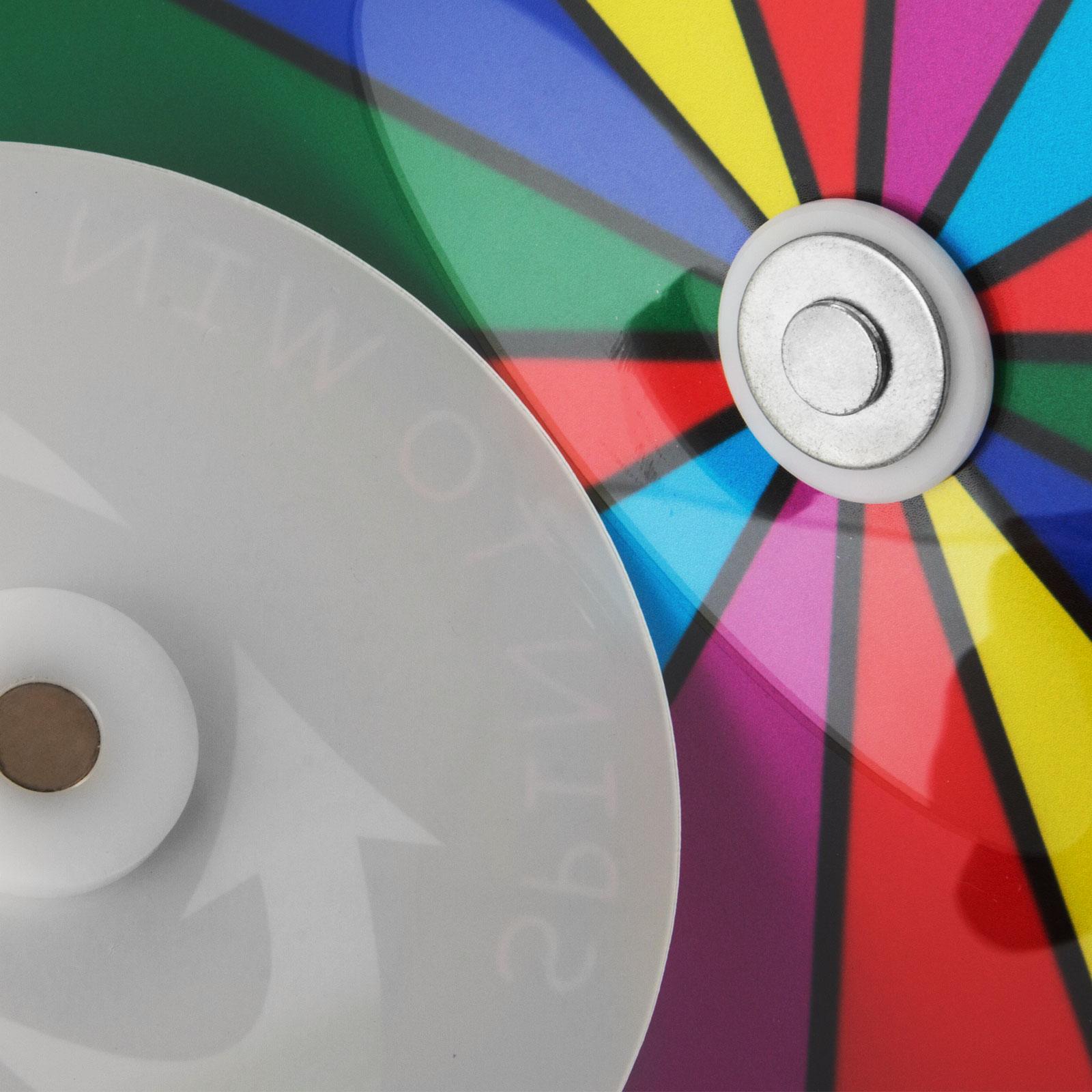 24-18-15-Ruota-Della-Fortuna-di-Colore-14-Slots-Gioco-Spin-Con-Supporto-Festa miniatura 84