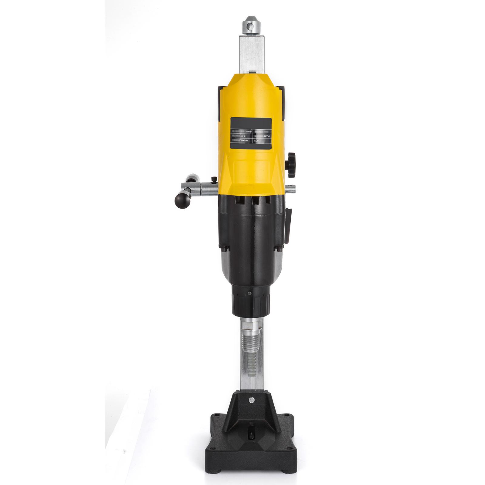 """10/"""" Diamond Core Drill Concrete Drilling Machine With Stand Press Drilling 4450W"""