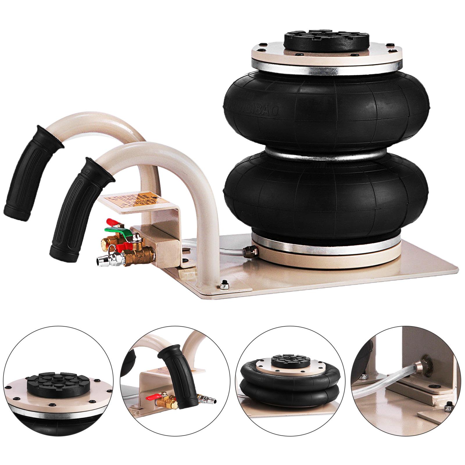 2 5t pneumatischer wagenheber druckluft 2 ringe 2500kg. Black Bedroom Furniture Sets. Home Design Ideas