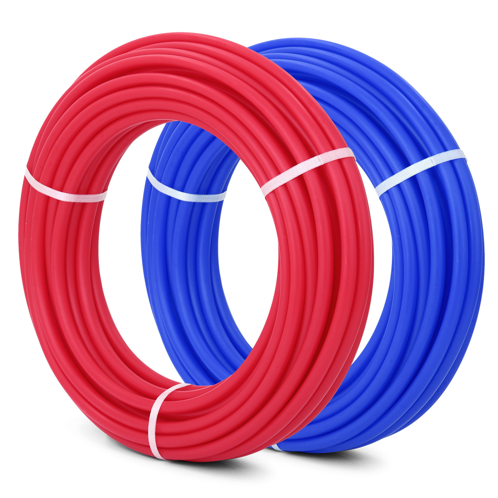 1-2-034-x-100-200-300-1000ft-Pex-Tubing-Oxygen-Barrier-Red-Blue-Radiant-Floor-Heat thumbnail 14