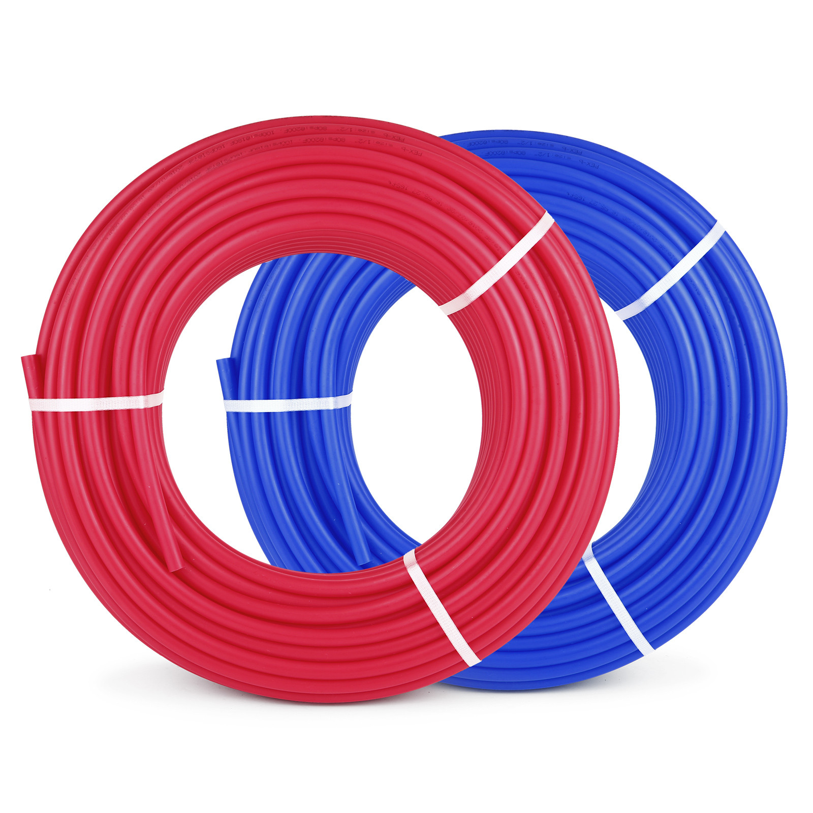 1-2-034-x-100-200-300-1000ft-Pex-Tubing-Oxygen-Barrier-Red-Blue-Radiant-Floor-Heat thumbnail 40