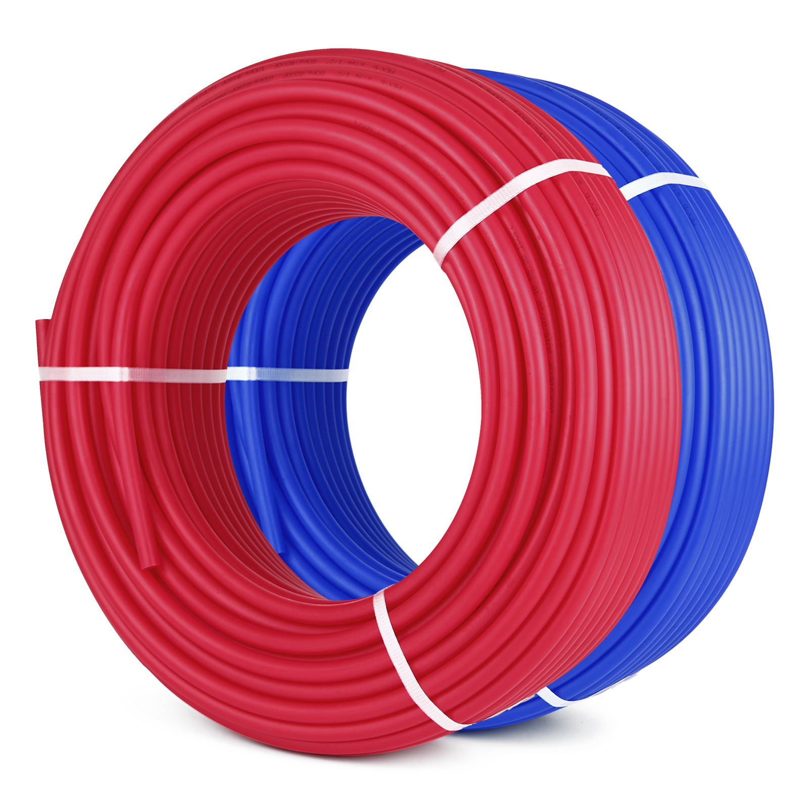 1-2-034-x-100-200-300-1000ft-Pex-Tubing-Oxygen-Barrier-Red-Blue-Radiant-Floor-Heat thumbnail 74