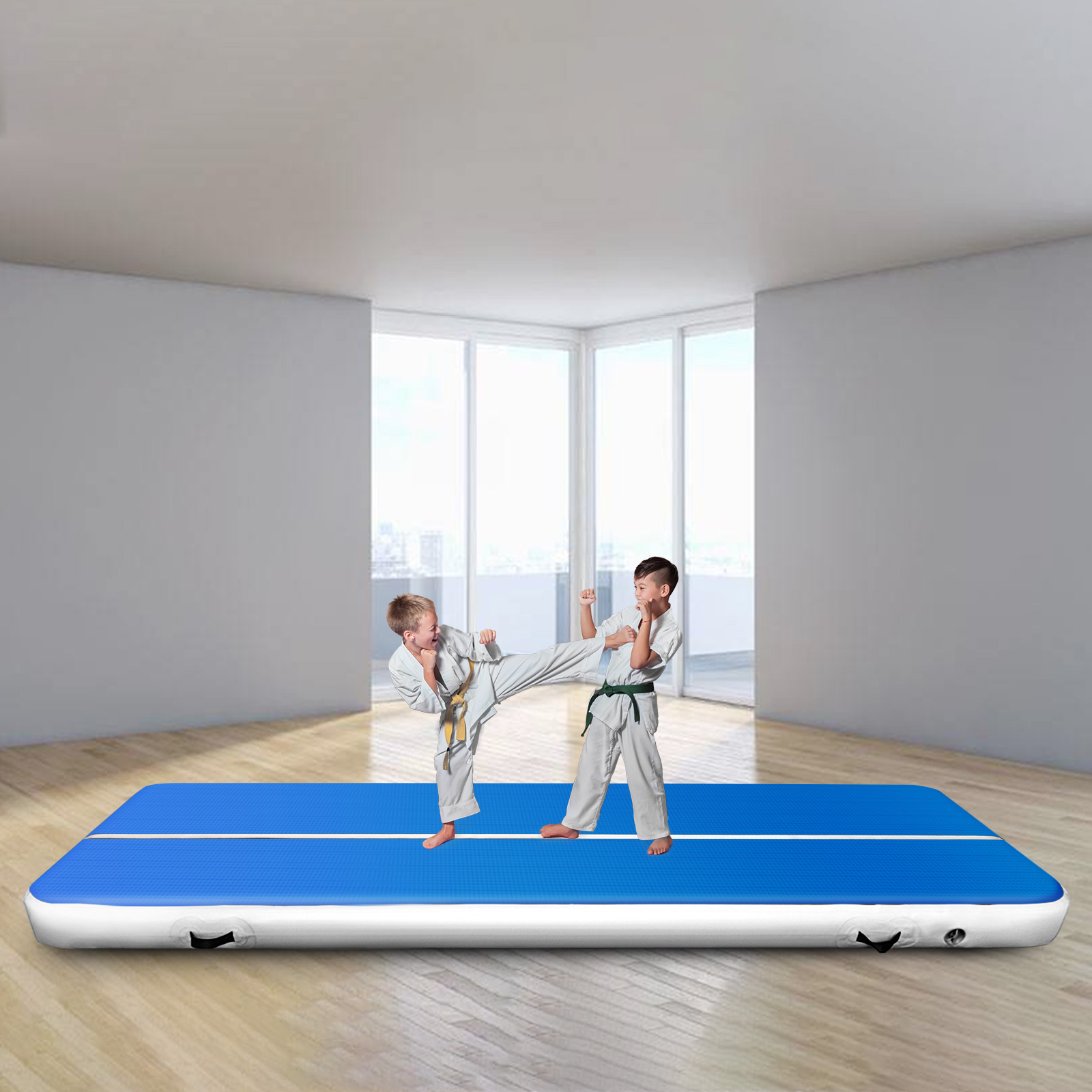 Inflatable Air Track Floor Home Gymnastics Tumbling Mat