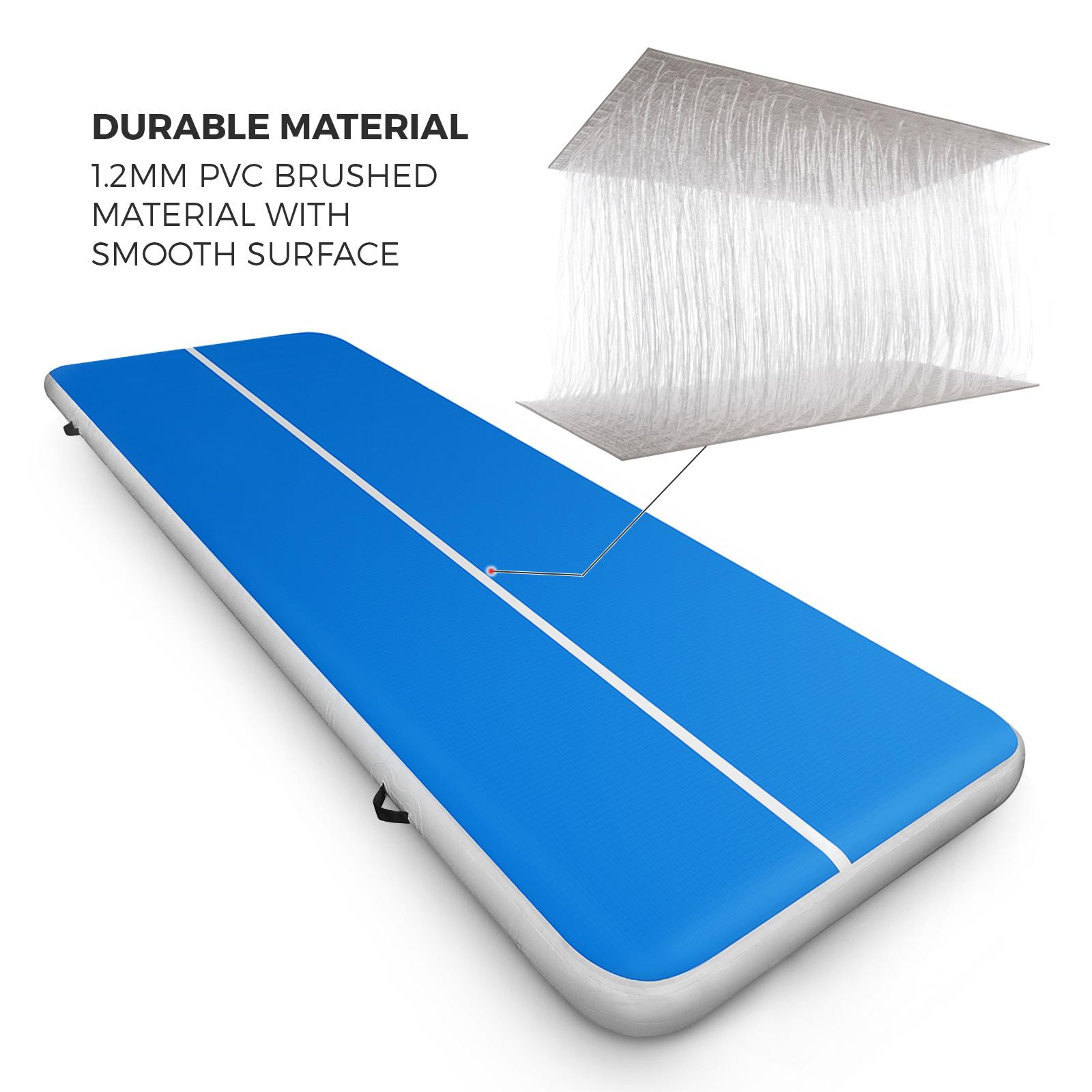 Inflatable Gymnastics Mat Air Track Floor Home Tumbling