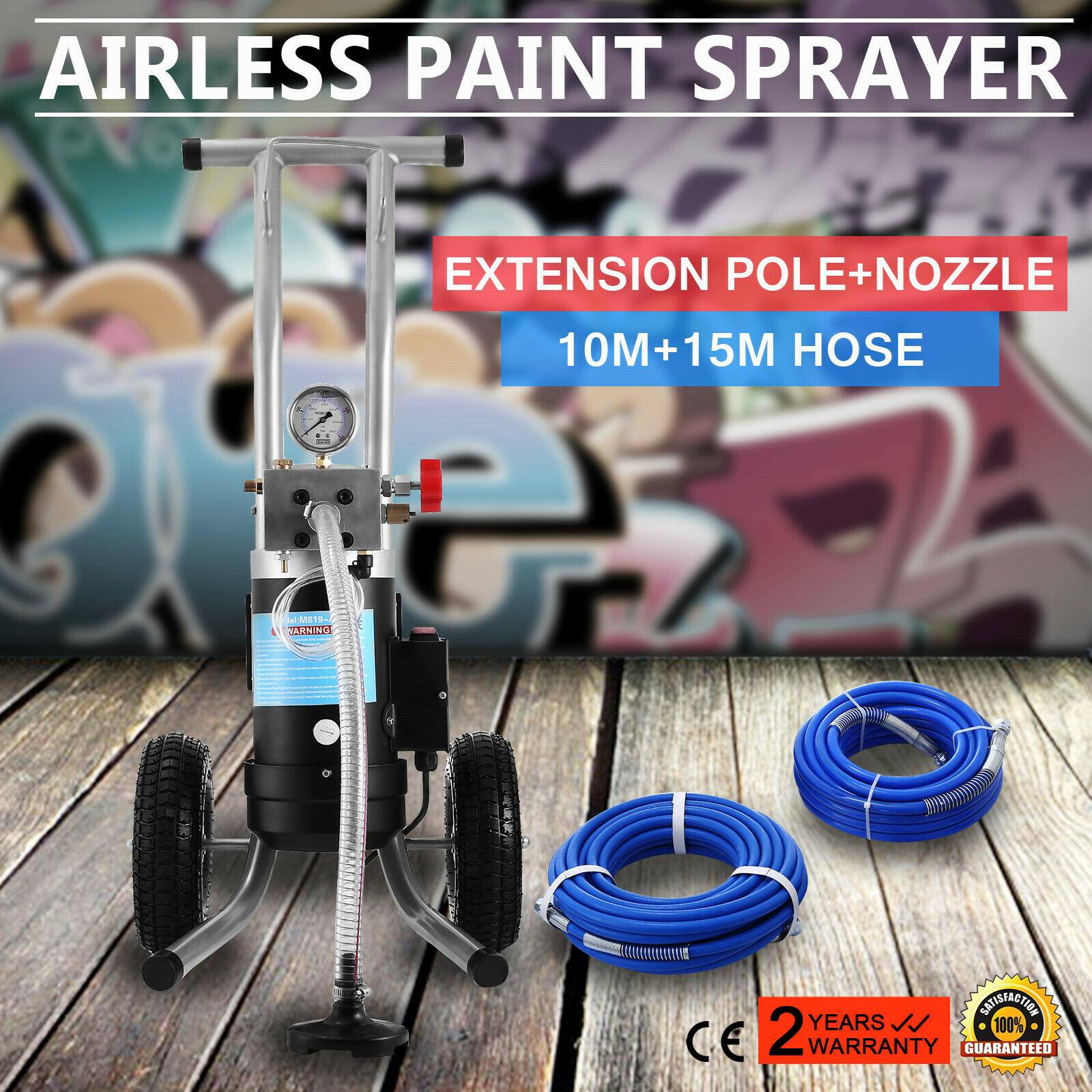 1800W Pulvérisateur de Peinture sans Air Pistolet 3.5HP Certificat CE et ROHS   eBay
