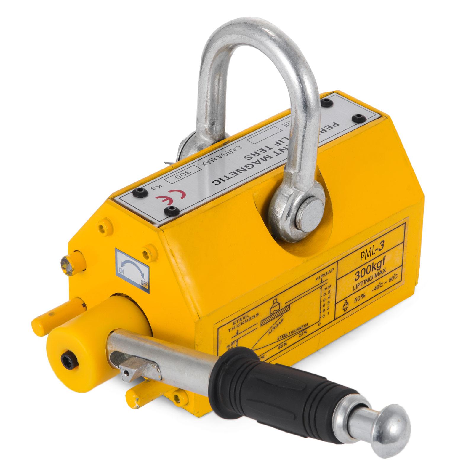 100-300-600-1000KG-Steel-Magnetic-Lifter-Heavy-Duty-Crane-Hoist-Lifting-Magnet miniature 28