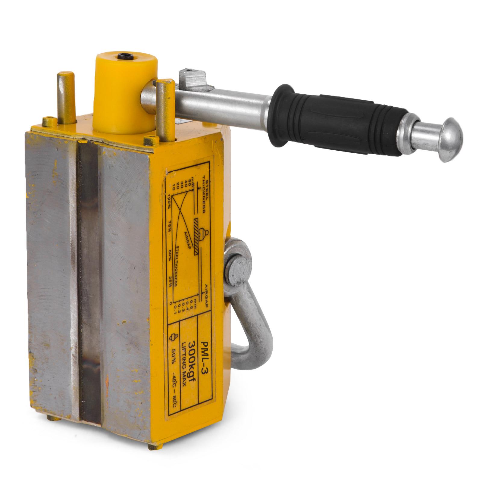 100-300-600-1000KG-Steel-Magnetic-Lifter-Heavy-Duty-Crane-Hoist-Lifting-Magnet miniature 31