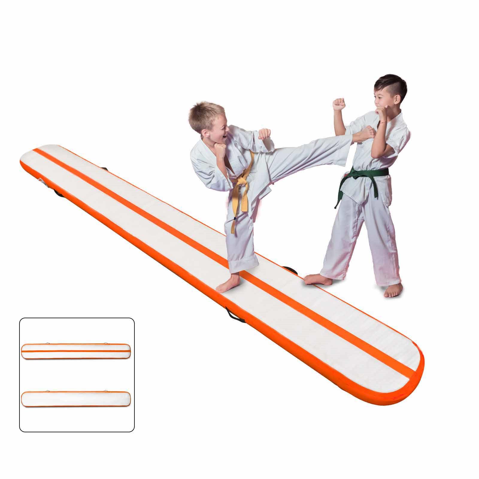 Air-Track-10x3FT-Trumbling-Airtrack-Gymnastics-Yoga-Floor-Mat-Training-Pad-Home thumbnail 167