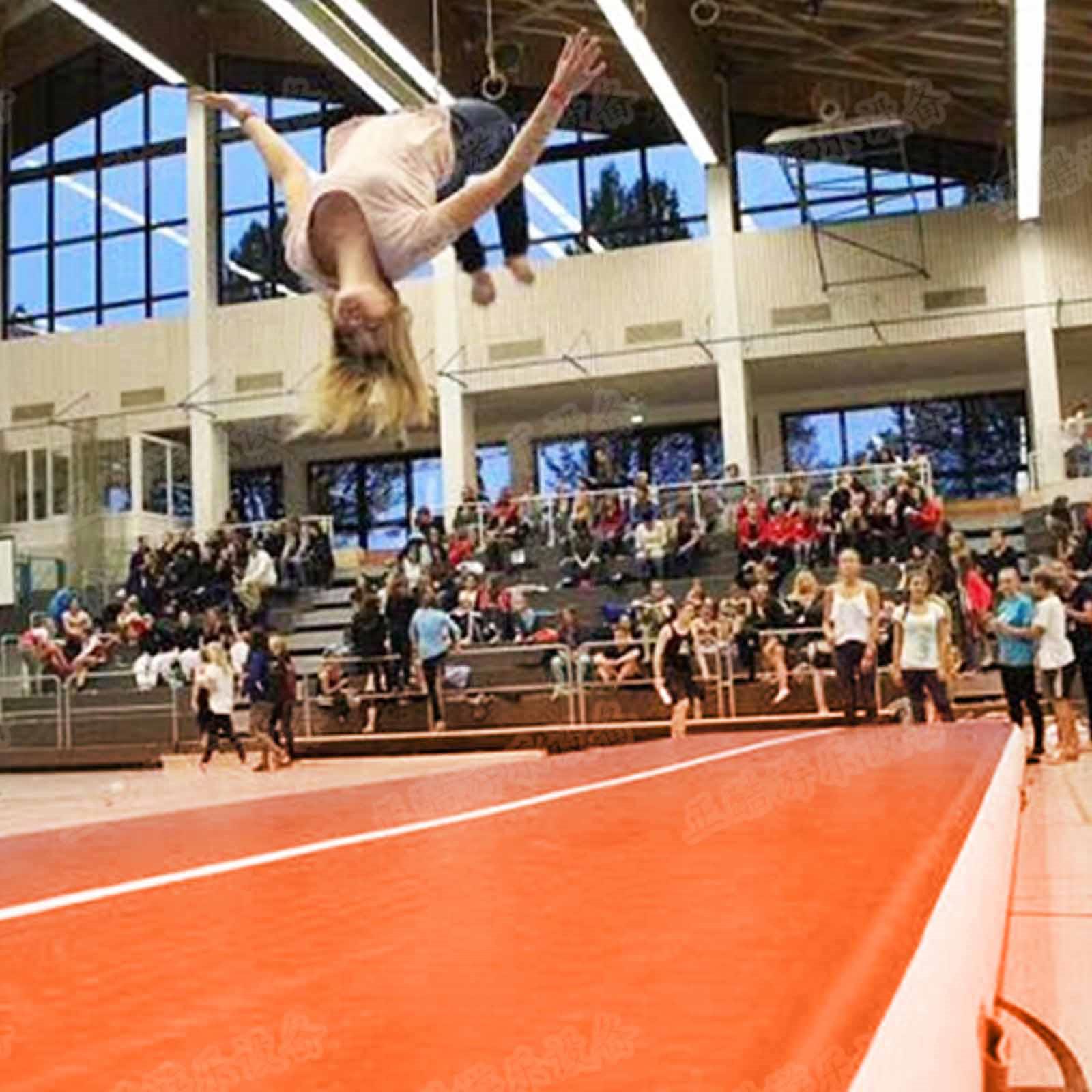 Air-Track-10x3FT-Trumbling-Airtrack-Gymnastics-Yoga-Floor-Mat-Training-Pad-Home thumbnail 168
