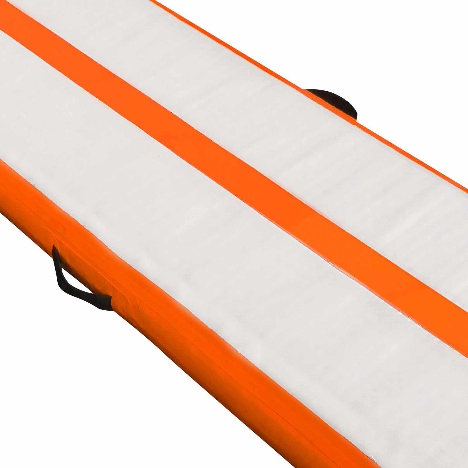 Air-Track-10x3FT-Trumbling-Airtrack-Gymnastics-Yoga-Floor-Mat-Training-Pad-Home thumbnail 164