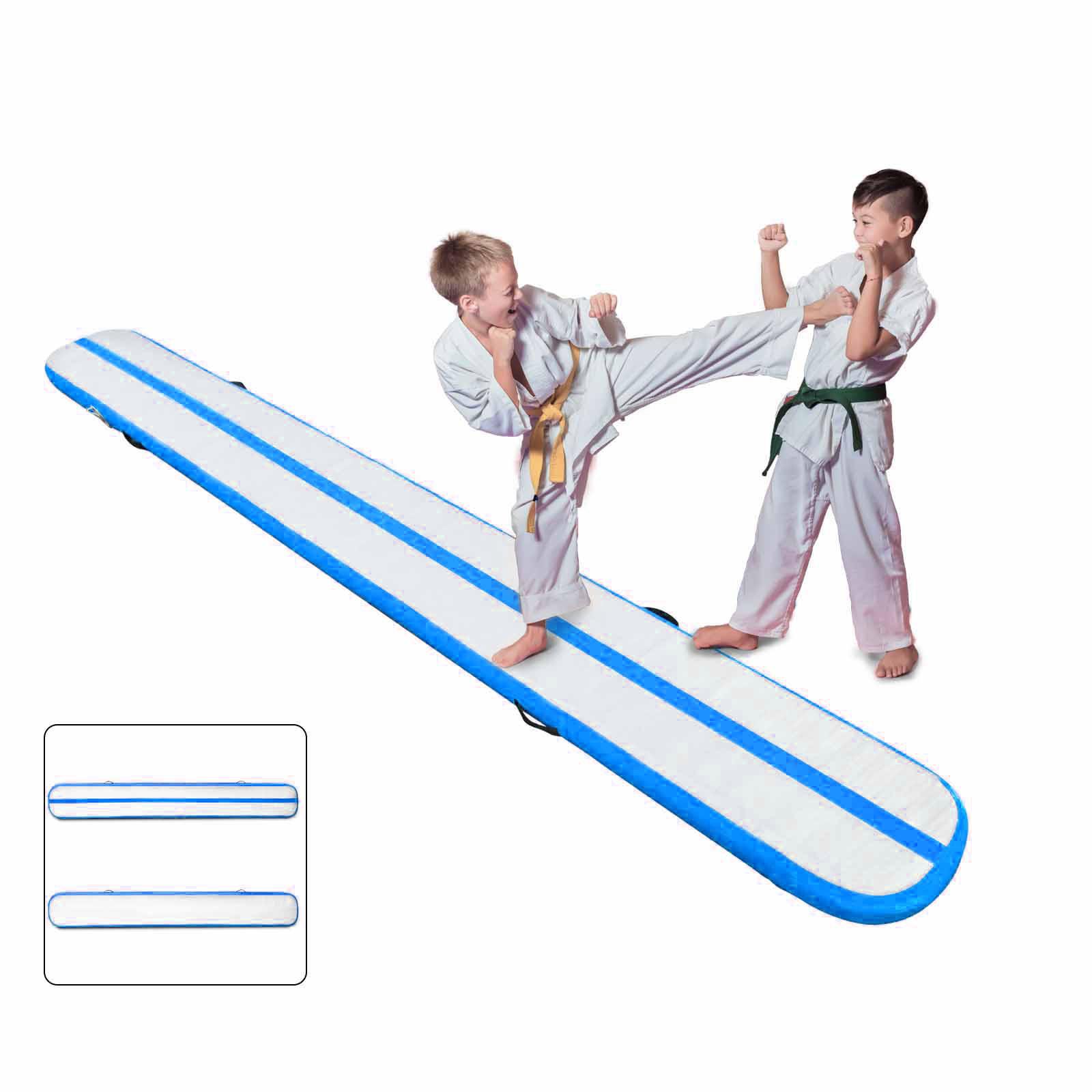 Air-Track-10x3FT-Trumbling-Airtrack-Gymnastics-Yoga-Floor-Mat-Training-Pad-Home thumbnail 155