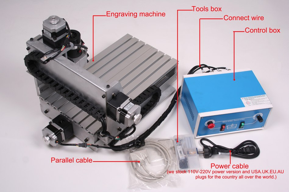 UPDATED NEW CNC 3020T ROUTER ENGRAVER/ENGRAVING DRILLING AND MILLING MACHINE c5