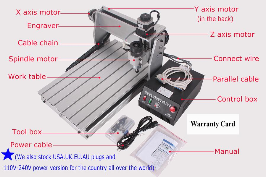 NEW CNC ROUTER ENGRAVER DRILLING/MILLING MACHINE 3040 e