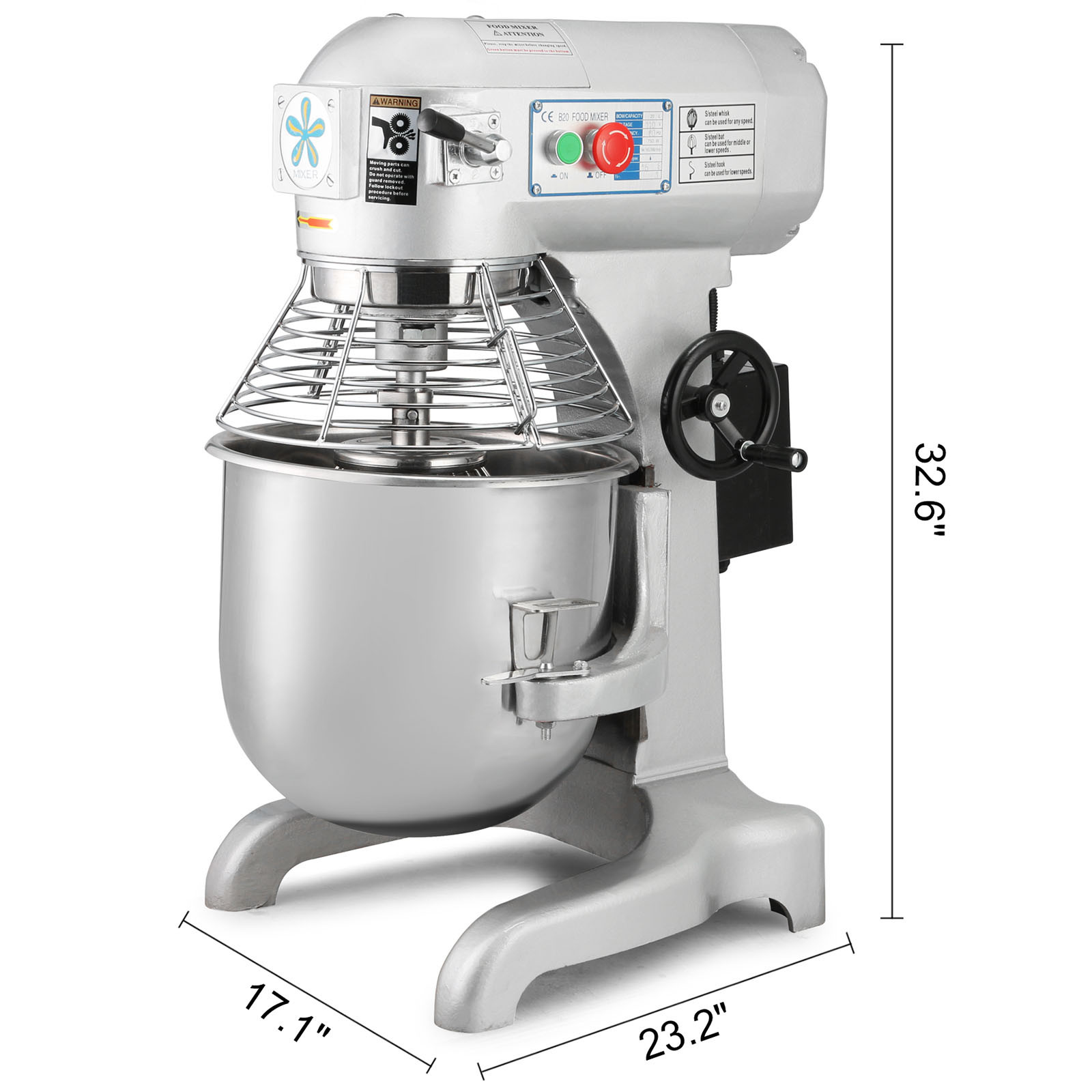 30 Quart Food Mixer Dough Blender Commercial Processor 3 Speed Wiring Diagram Watch This Item Email A Friend