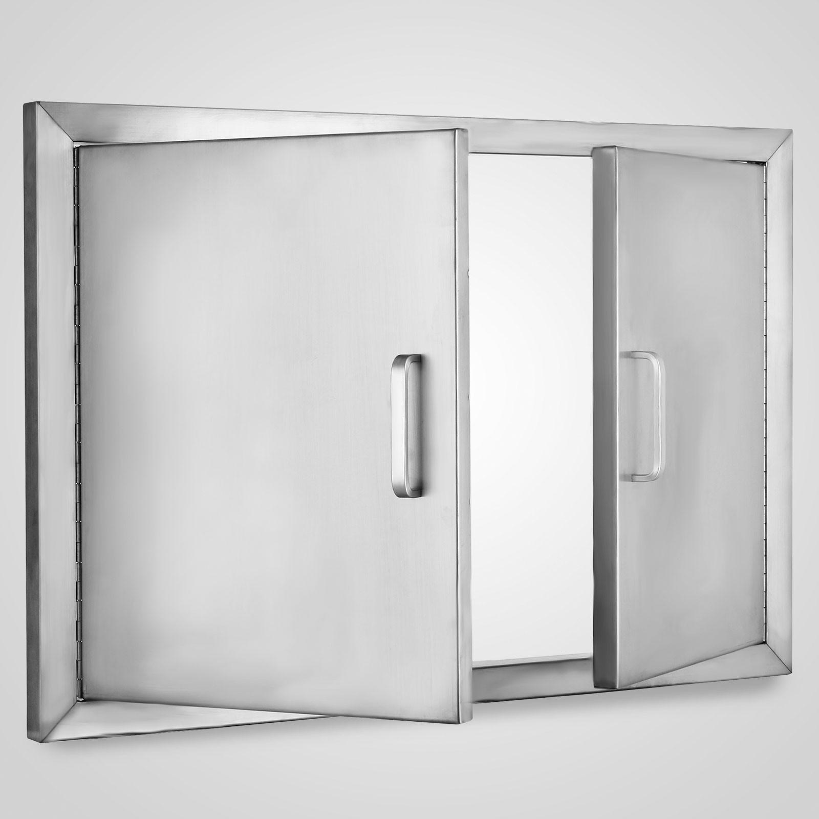 """BBQ 31""""x24"""" Access Double Walled Door Stainless Doors"""