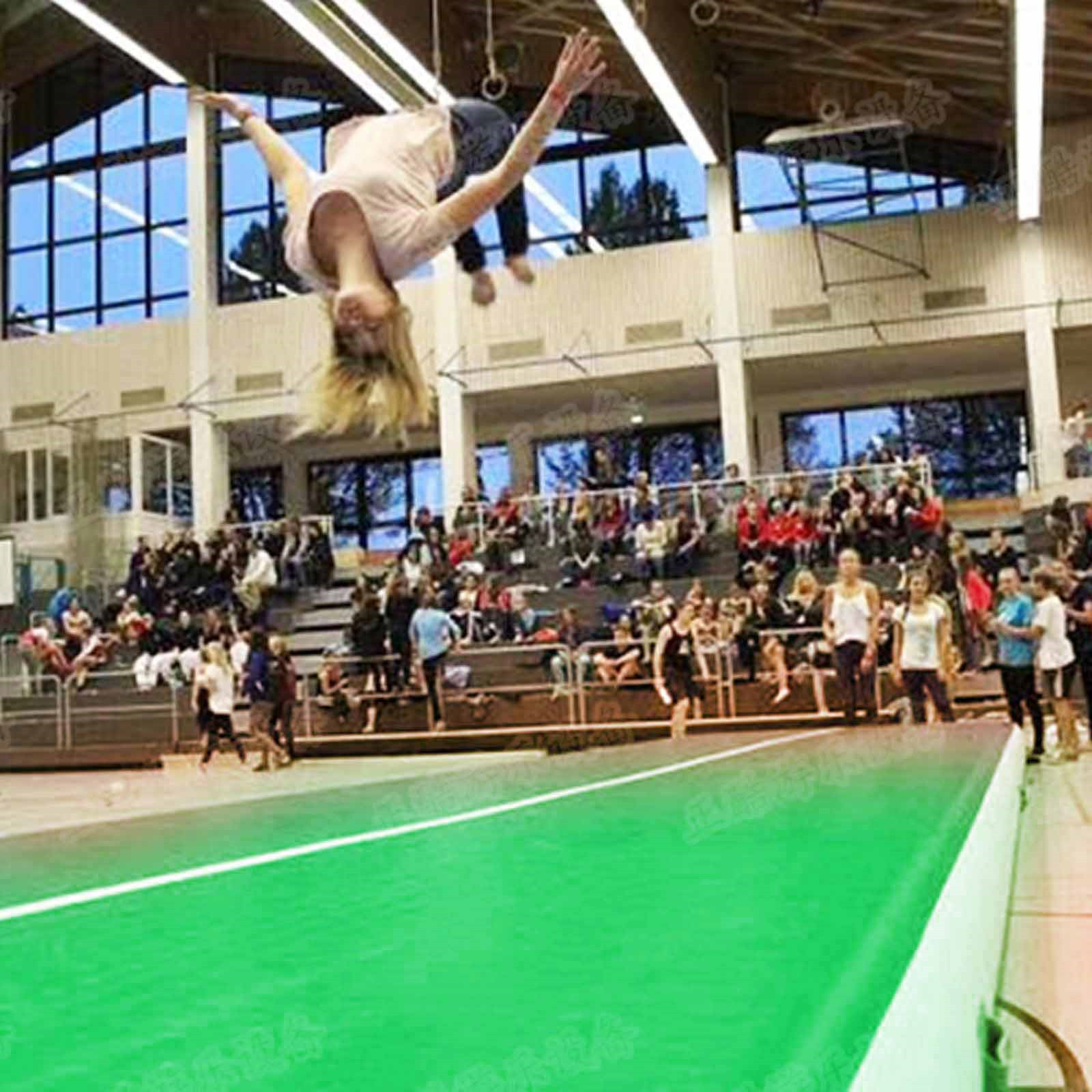 Air-Track-10x3FT-Trumbling-Airtrack-Gymnastics-Yoga-Floor-Mat-Training-Pad-Home thumbnail 132