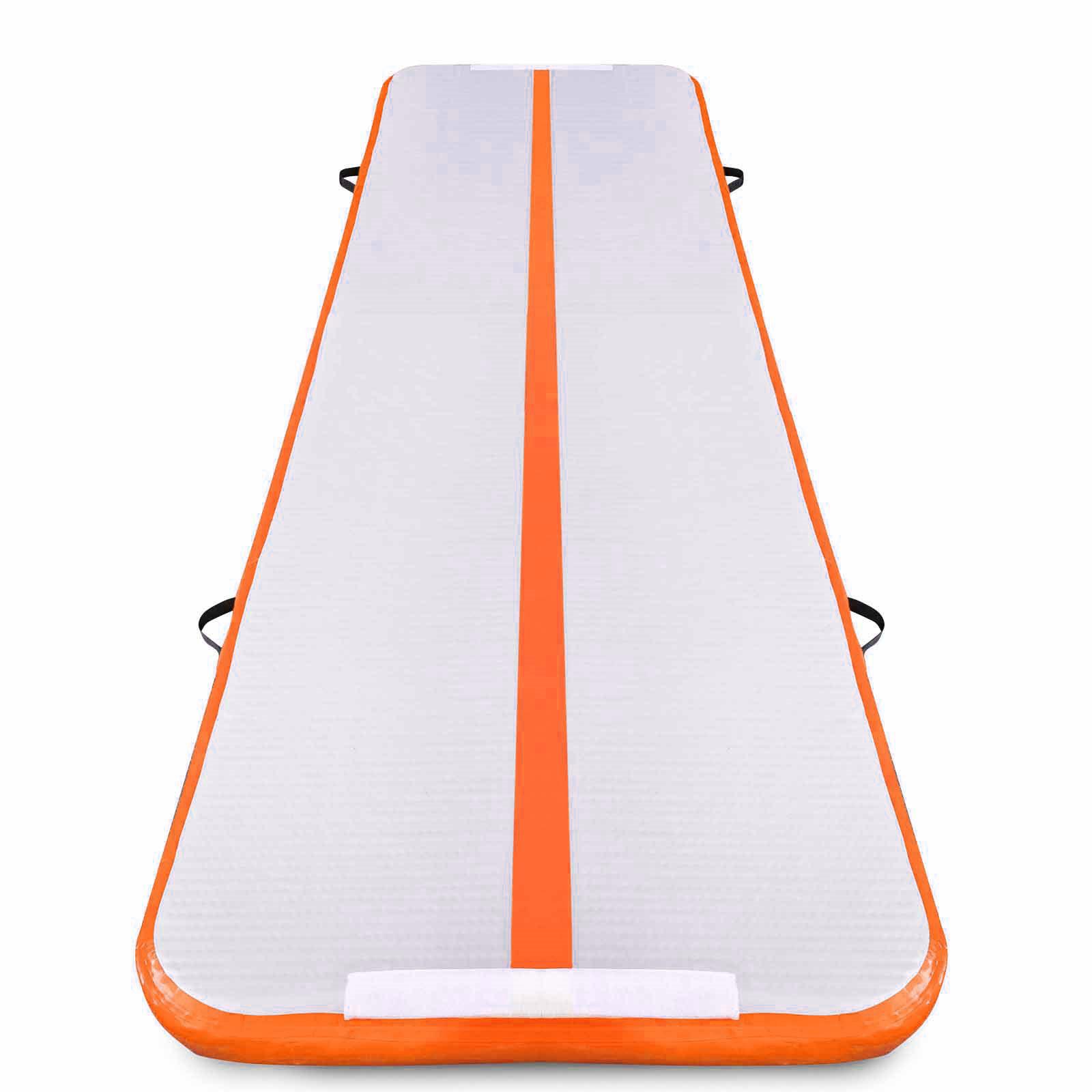 Air-Track-10x3FT-Trumbling-Airtrack-Gymnastics-Yoga-Floor-Mat-Training-Pad-Home thumbnail 27
