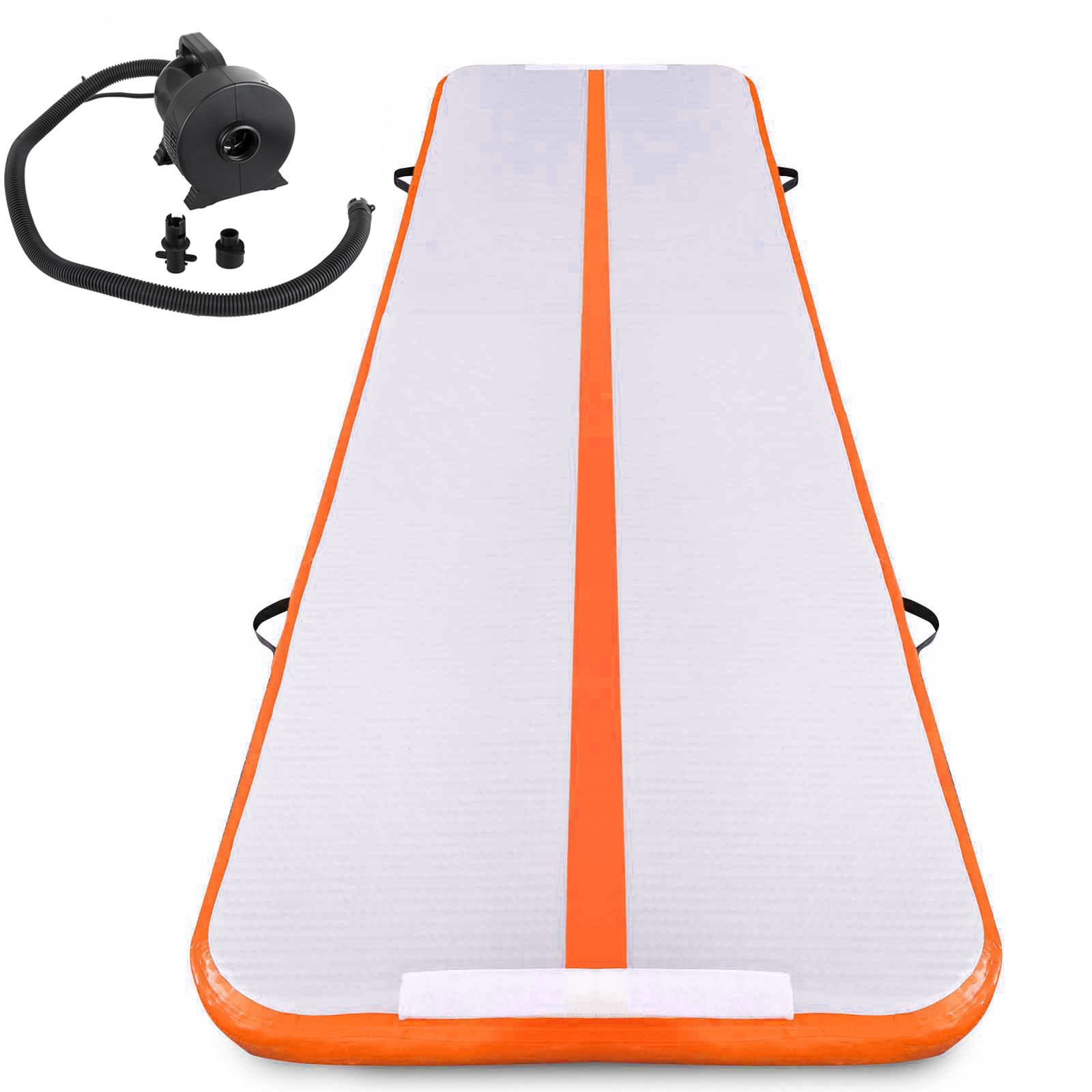 Air-Track-10x3FT-Trumbling-Airtrack-Gymnastics-Yoga-Floor-Mat-Training-Pad-Home thumbnail 87