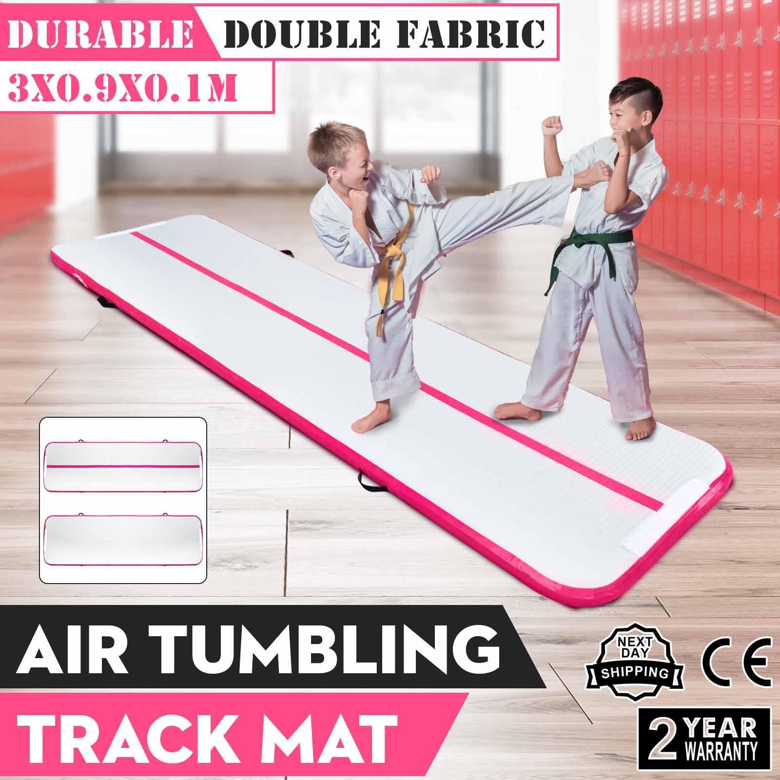 3m air track aufblasbare gymnastikmatte tumbling matte. Black Bedroom Furniture Sets. Home Design Ideas