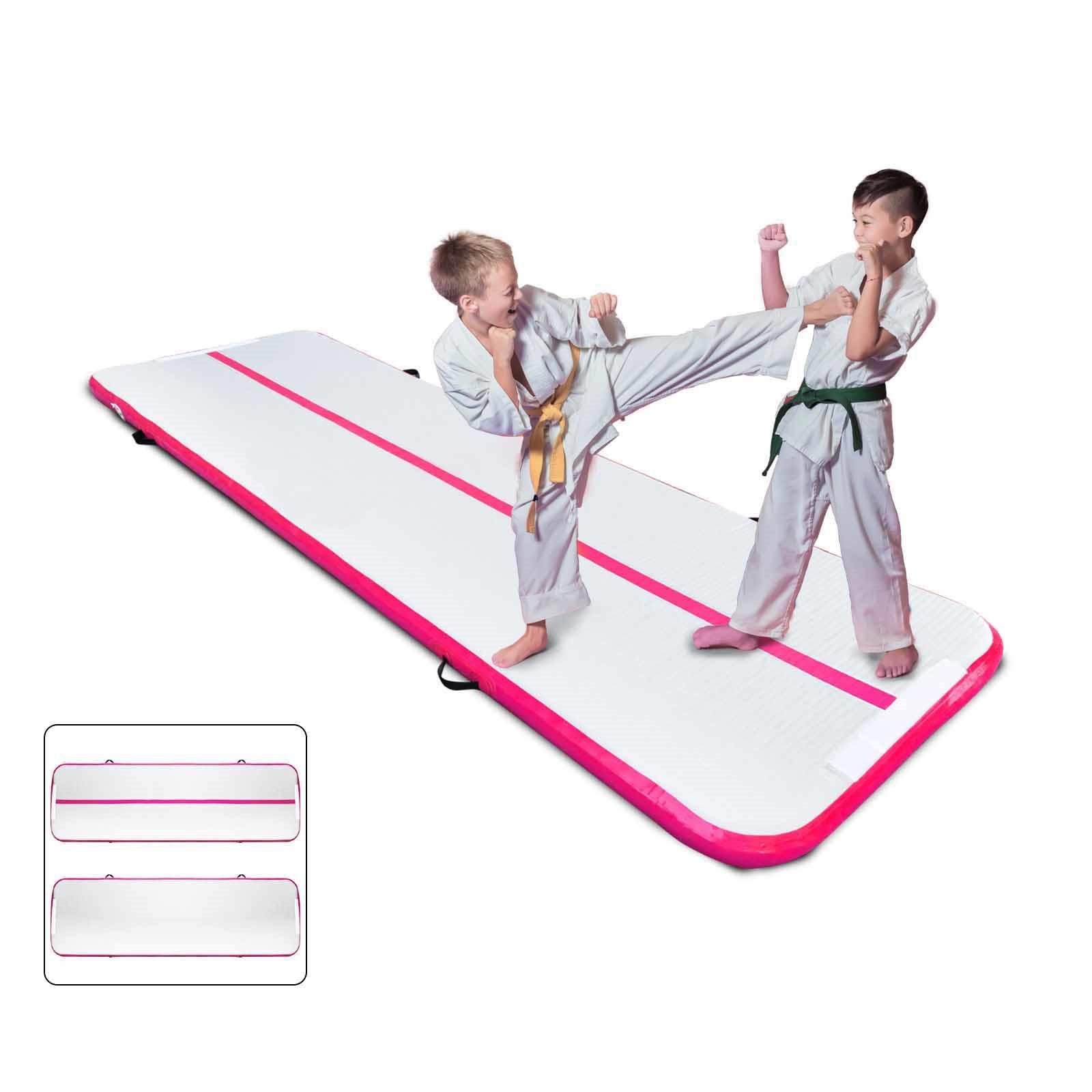 Air-Track-10x3FT-Trumbling-Airtrack-Gymnastics-Yoga-Floor-Mat-Training-Pad-Home thumbnail 107