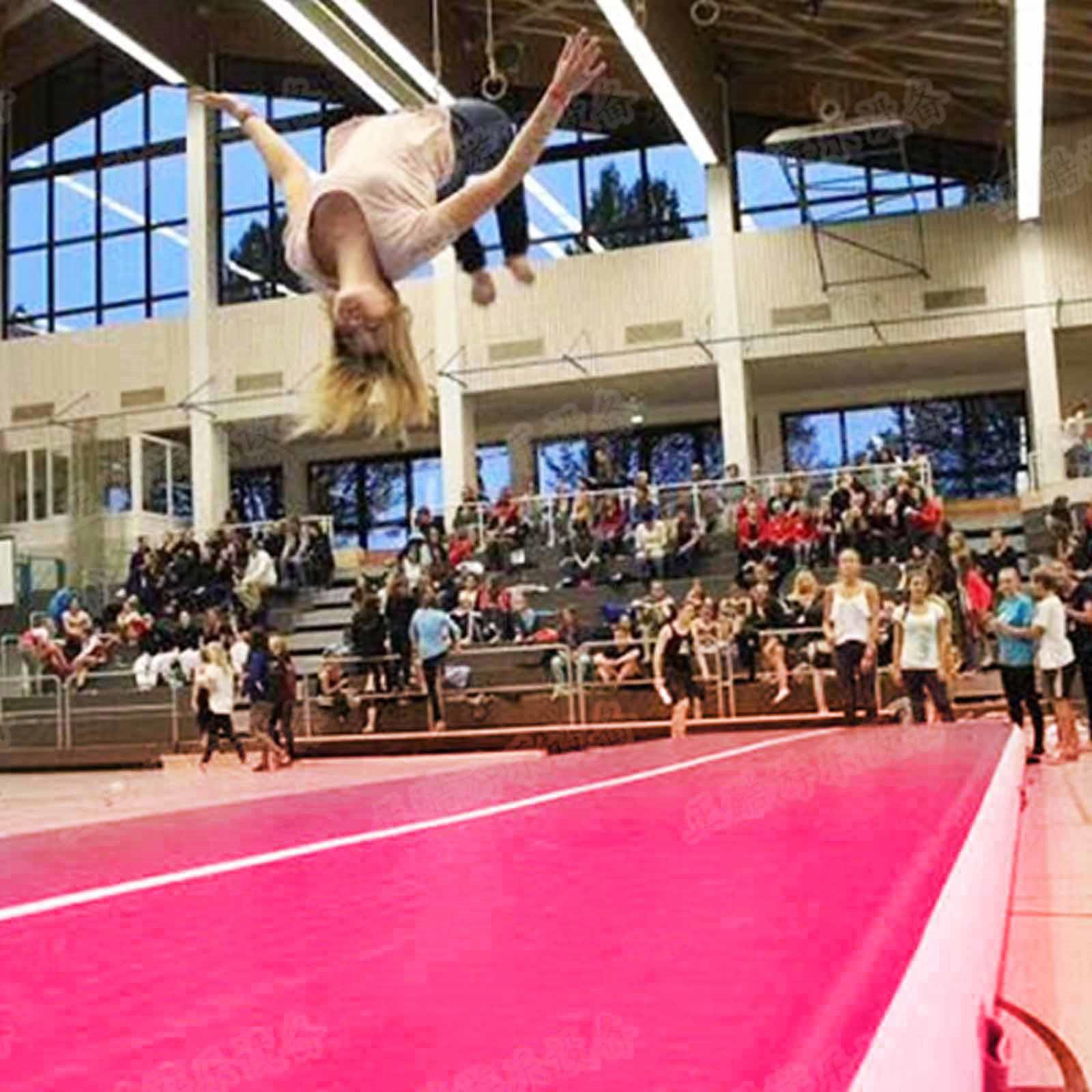 Air-Track-10x3FT-Trumbling-Airtrack-Gymnastics-Yoga-Floor-Mat-Training-Pad-Home thumbnail 108