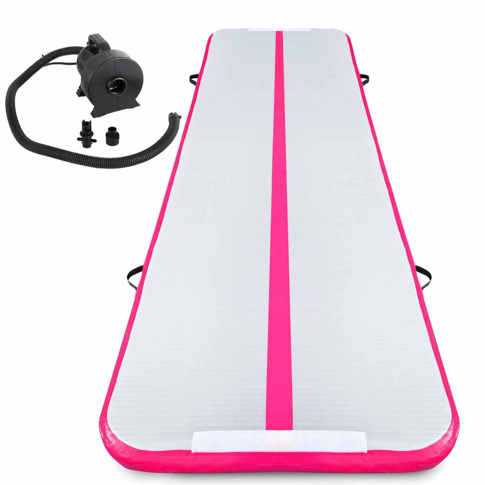 Air-Track-10x3FT-Trumbling-Airtrack-Gymnastics-Yoga-Floor-Mat-Training-Pad-Home thumbnail 99
