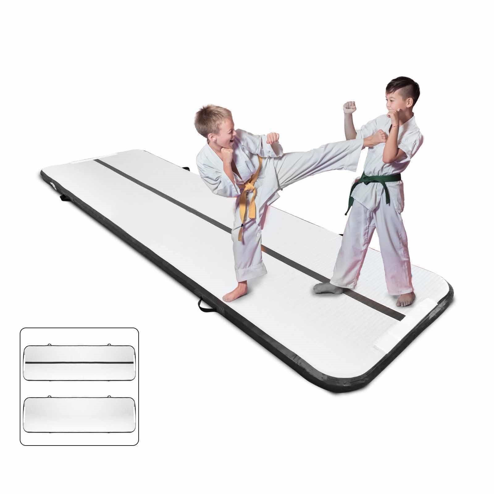 Air-Track-10x3FT-Trumbling-Airtrack-Gymnastics-Yoga-Floor-Mat-Training-Pad-Home thumbnail 59