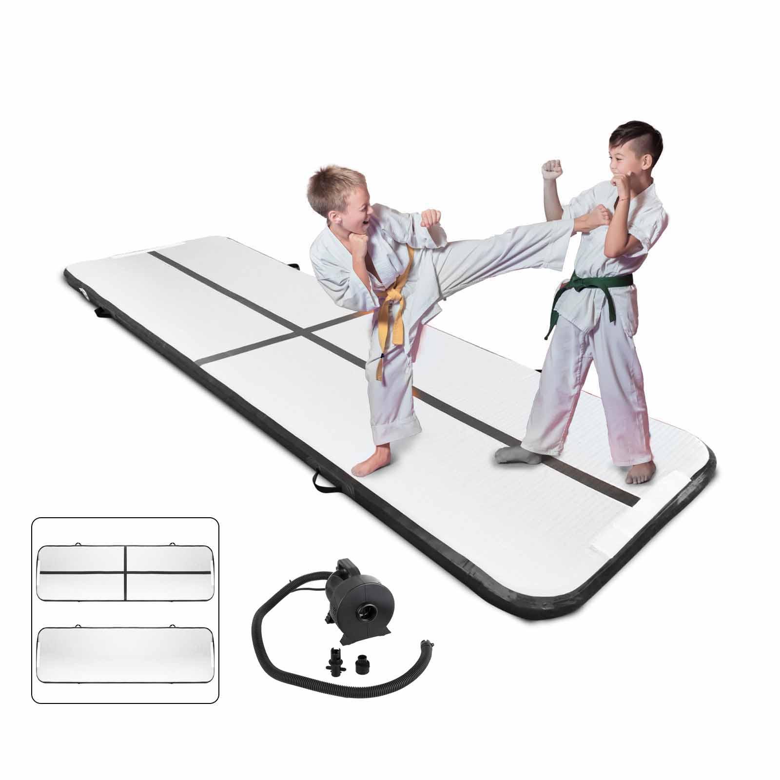 Air-Track-10x3FT-Trumbling-Airtrack-Gymnastics-Yoga-Floor-Mat-Training-Pad-Home thumbnail 120