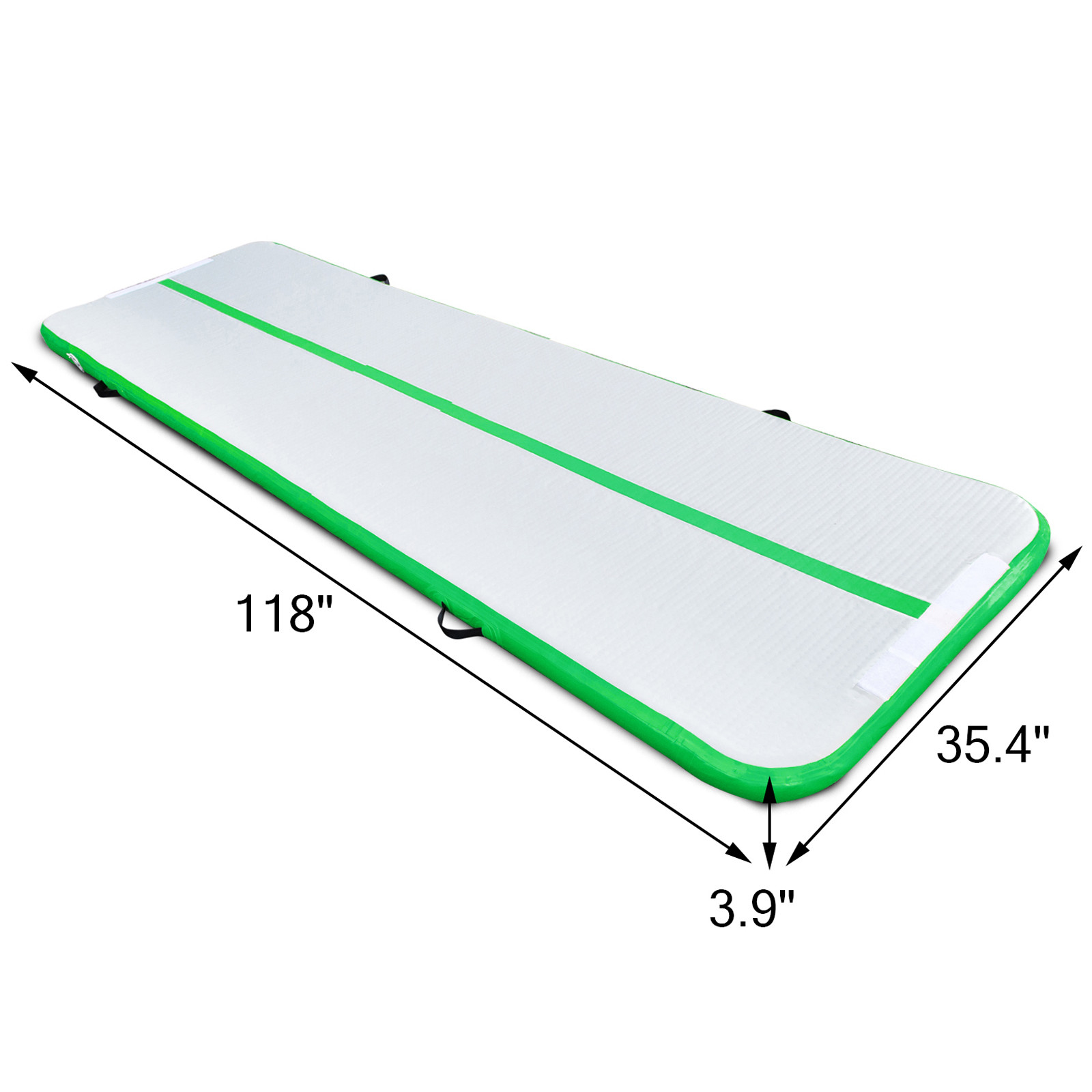10x3ft Airtrack Inflatable Air Track Floor Home Gymnastics
