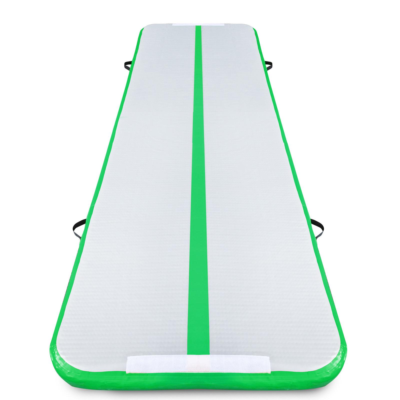 Air-Track-10x3FT-Trumbling-Airtrack-Gymnastics-Yoga-Floor-Mat-Training-Pad-Home thumbnail 63