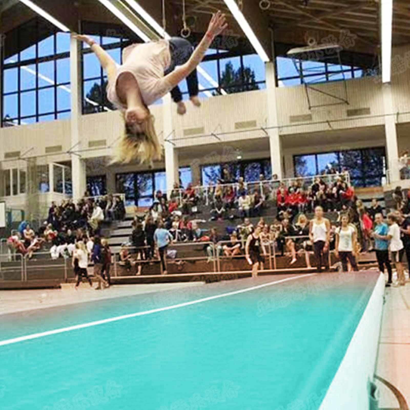 Air-Track-10x3FT-Trumbling-Airtrack-Gymnastics-Yoga-Floor-Mat-Training-Pad-Home thumbnail 84