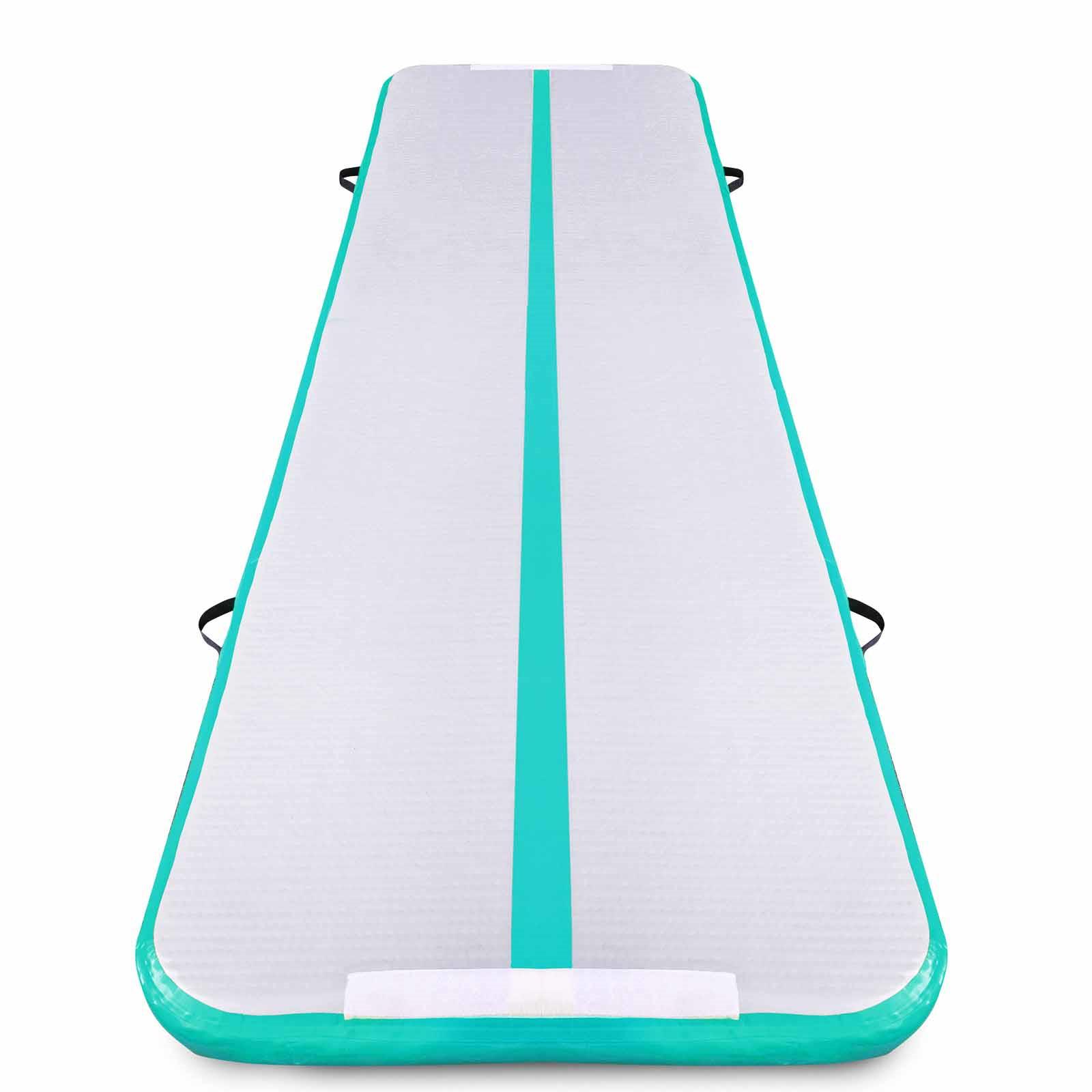 Air-Track-10x3FT-Trumbling-Airtrack-Gymnastics-Yoga-Floor-Mat-Training-Pad-Home thumbnail 75